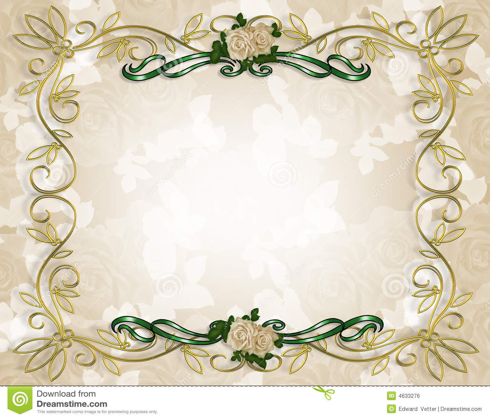 Invitaci n de la boda o del partido stock de ilustraci n - Marcos de plata para bodas ...