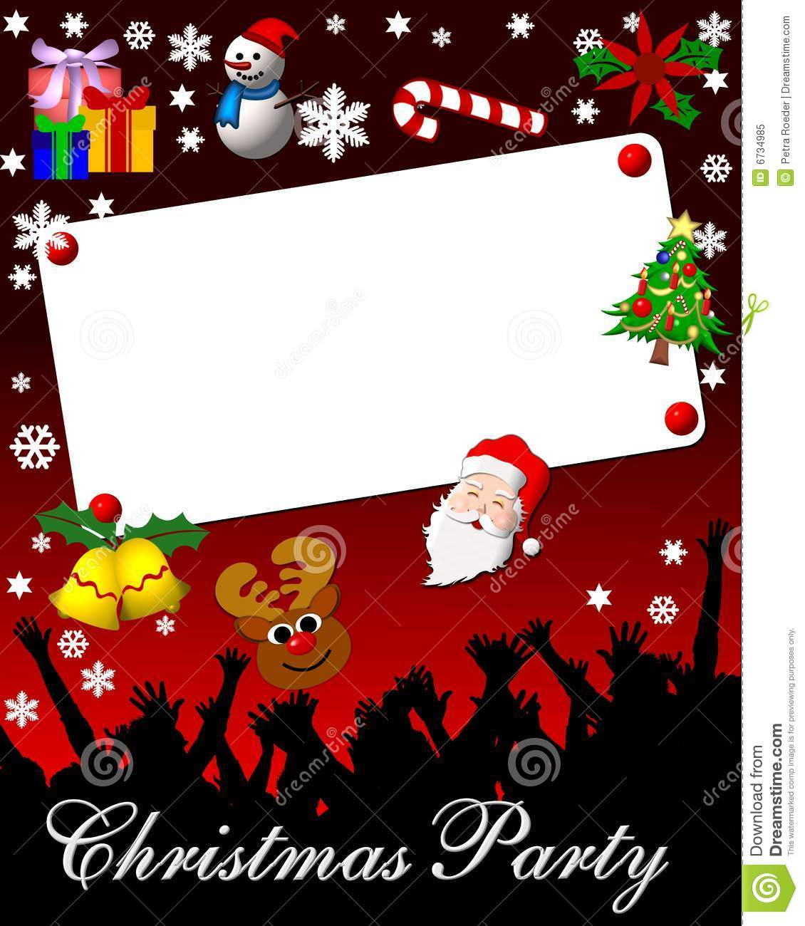 Xmas Party Invite Template as luxury invitations template