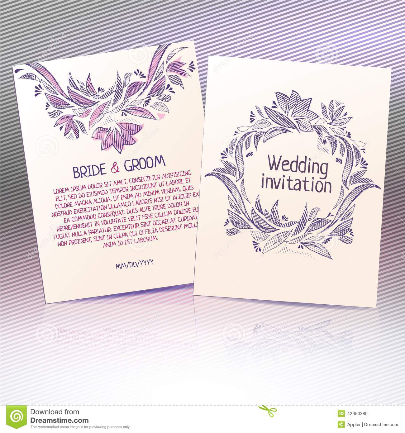 Plantilla De Boda. Cool Diy Typography Wedding Invite Psd Template ...
