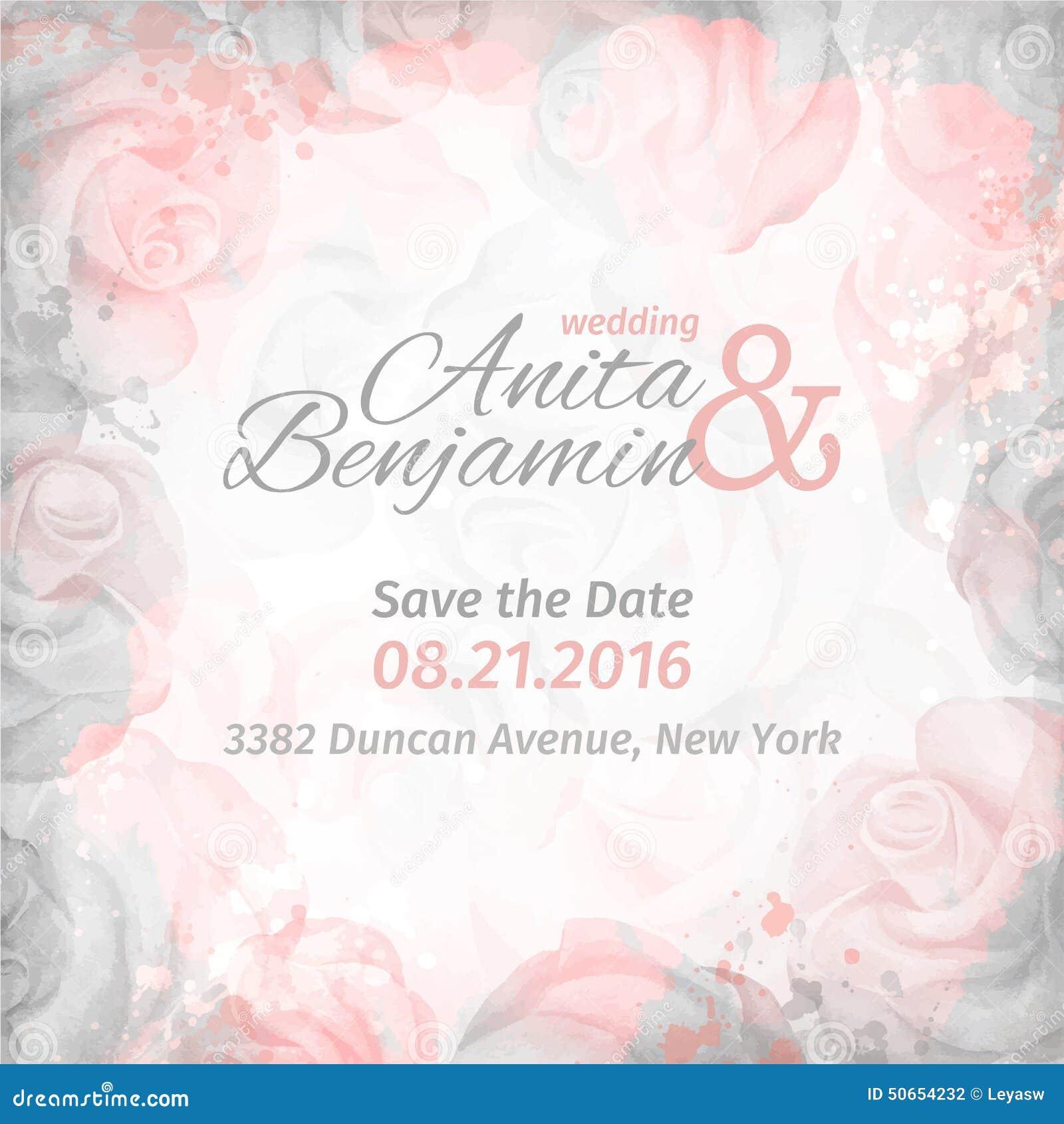 Invitacion A La Boda Fondo Color De Rosa Romantico Abstracto En - Fondo-invitacion-boda
