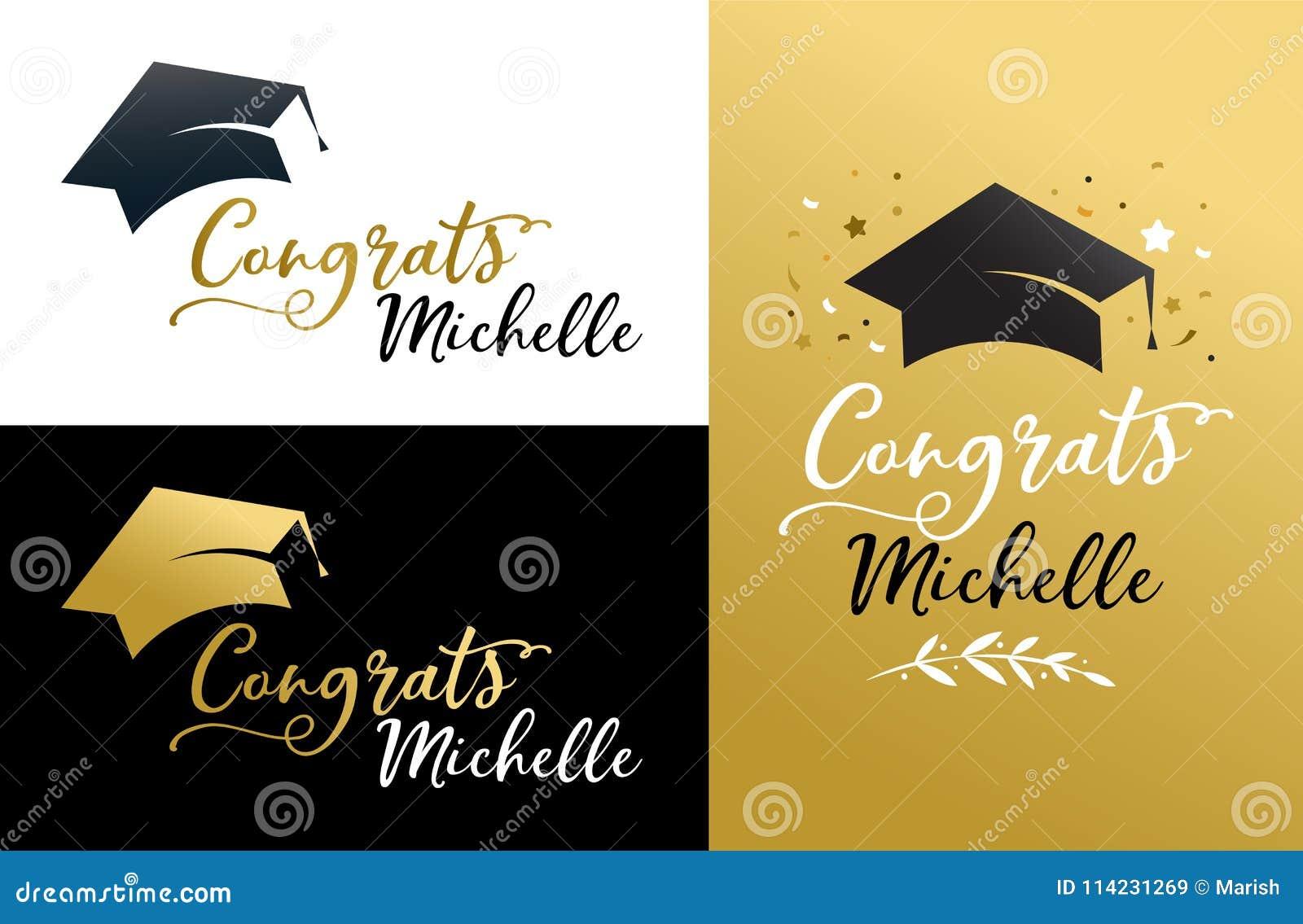 tarjeta de felicitacion de graduacion