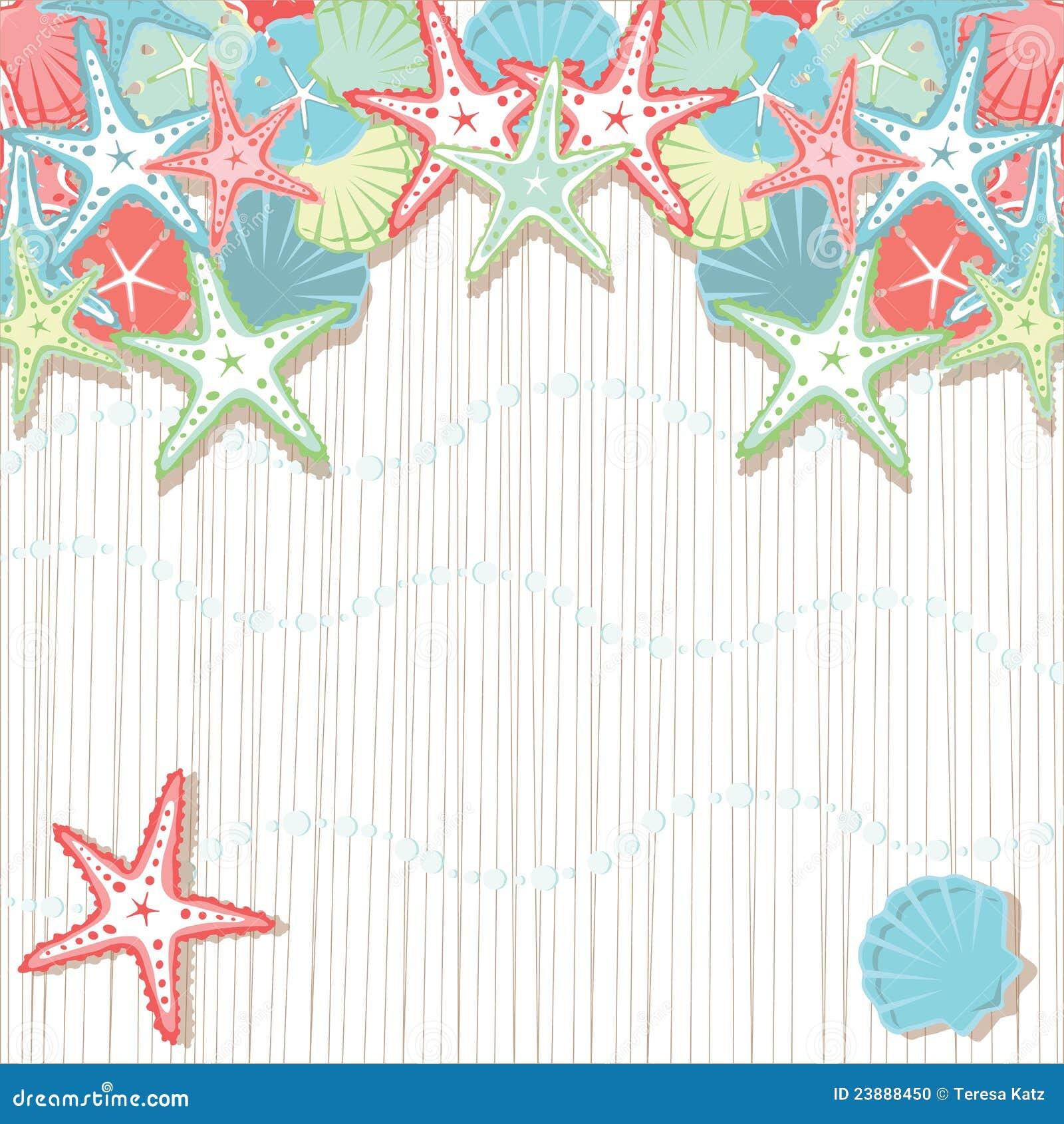 Starfish Wedding Invites is nice invitations example
