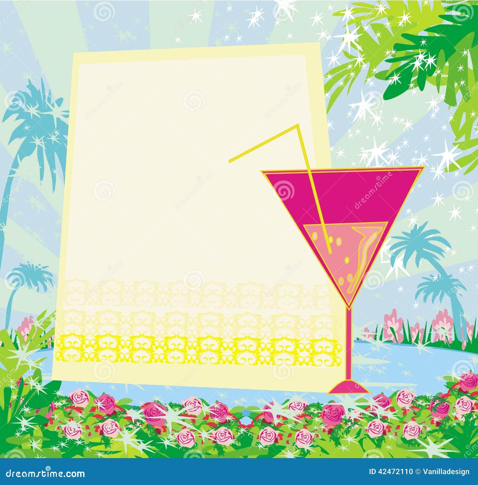 Invitation Au Voyage for adorable invitation design
