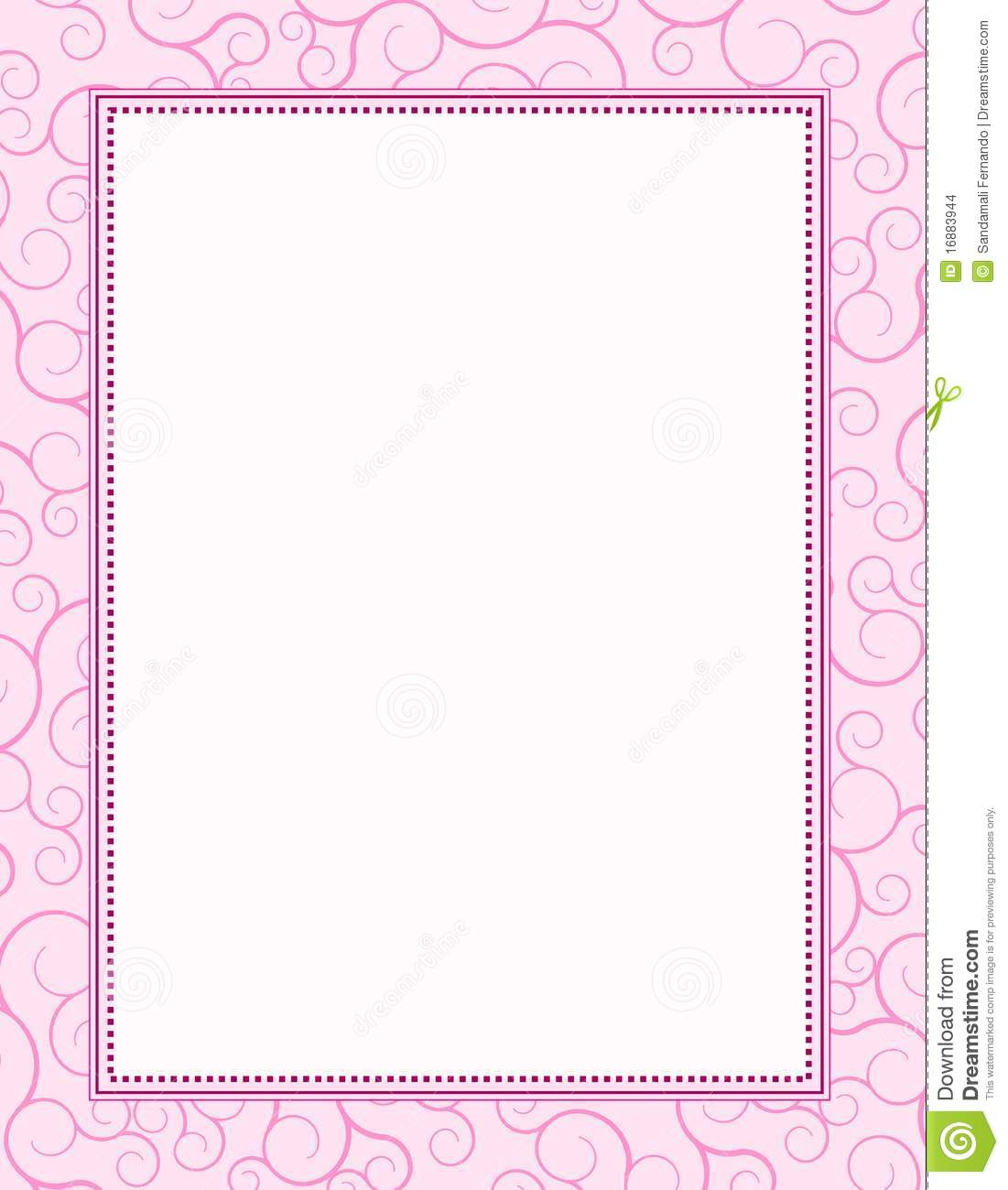 Invitation background frame stock vector illustration of clipart invitation background frame stopboris Image collections