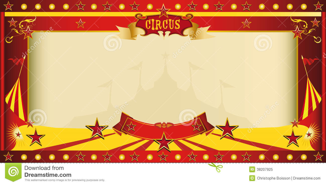 Circus Birthday Party Invitations with best invitation layout