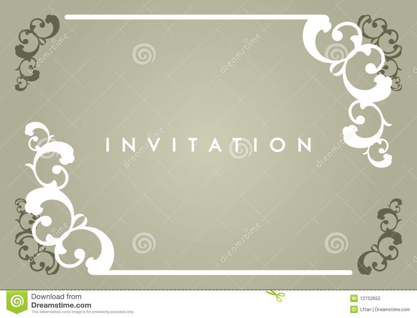 Invitation card stock vector illustration of wedding 12752652 invitation card stopboris Image collections