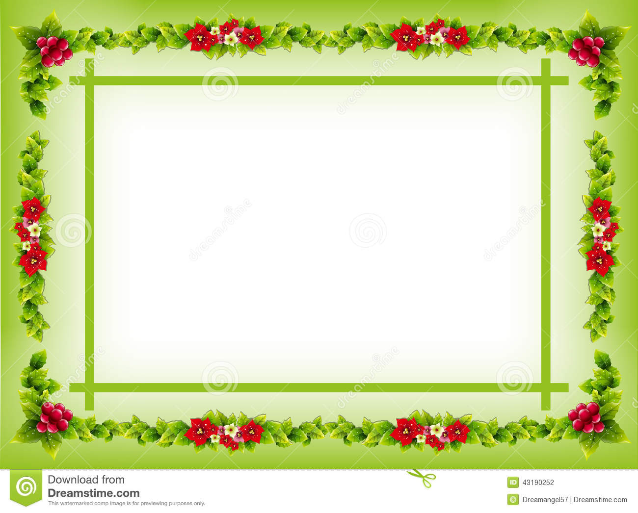 Invitation Card Border/Frame Stock Illustration - Image: 43190252