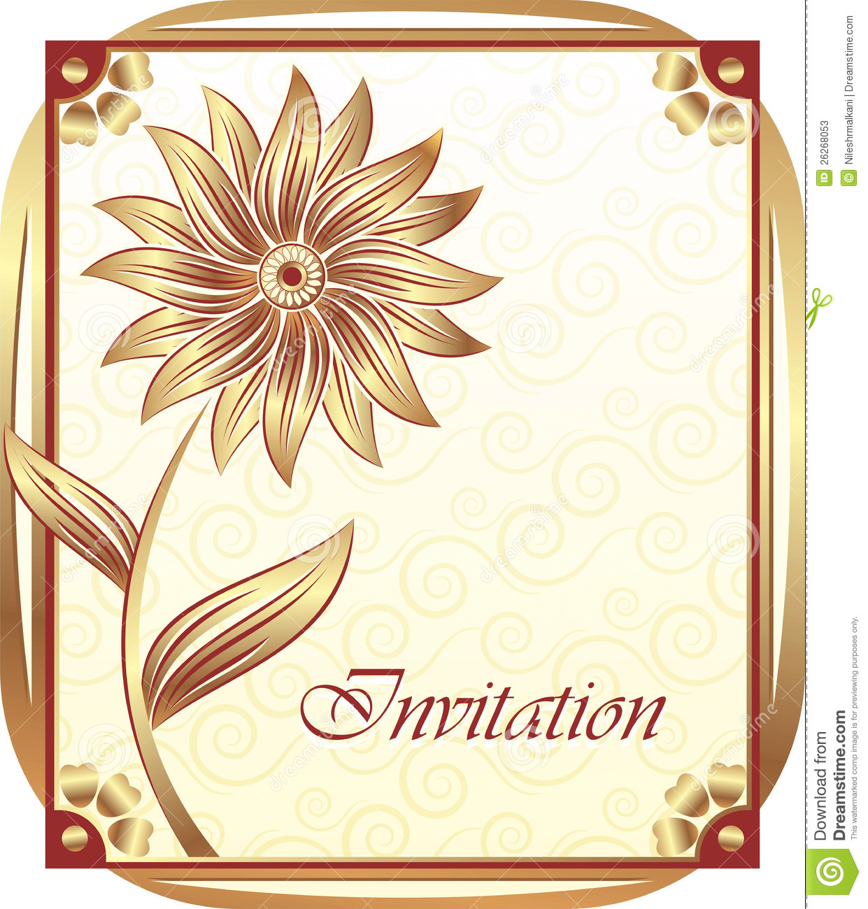 More similar stock images of ` Invitation card design `