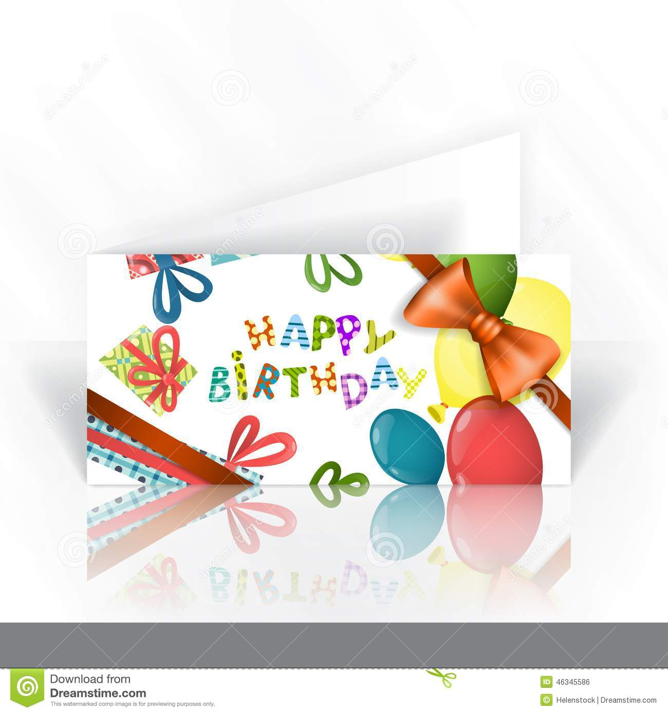 Birthday card design template colorful birthday background invitation card design template vector stopboris