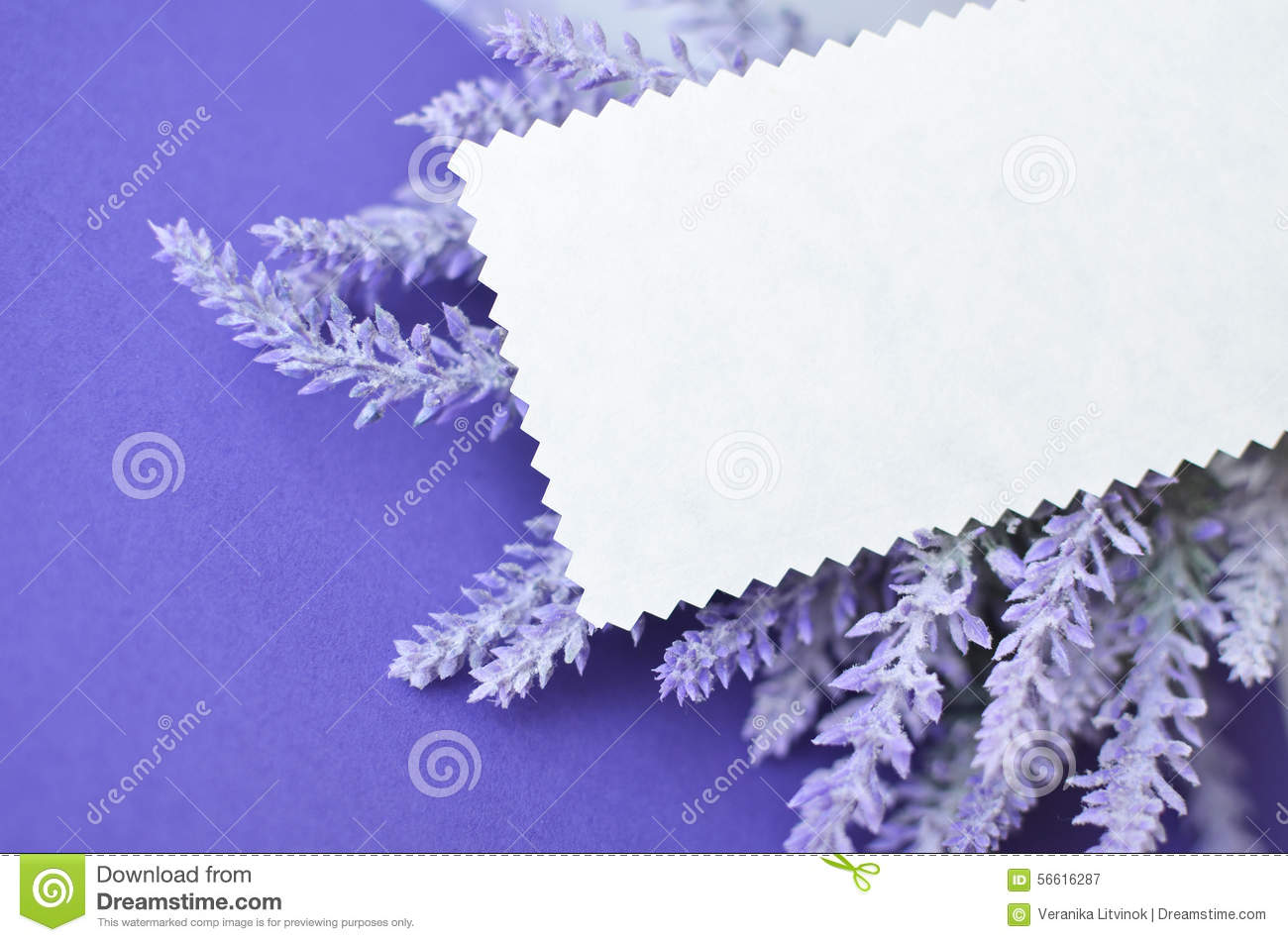 Invitation card with empty space for text on lavender background download comp stopboris Image collections