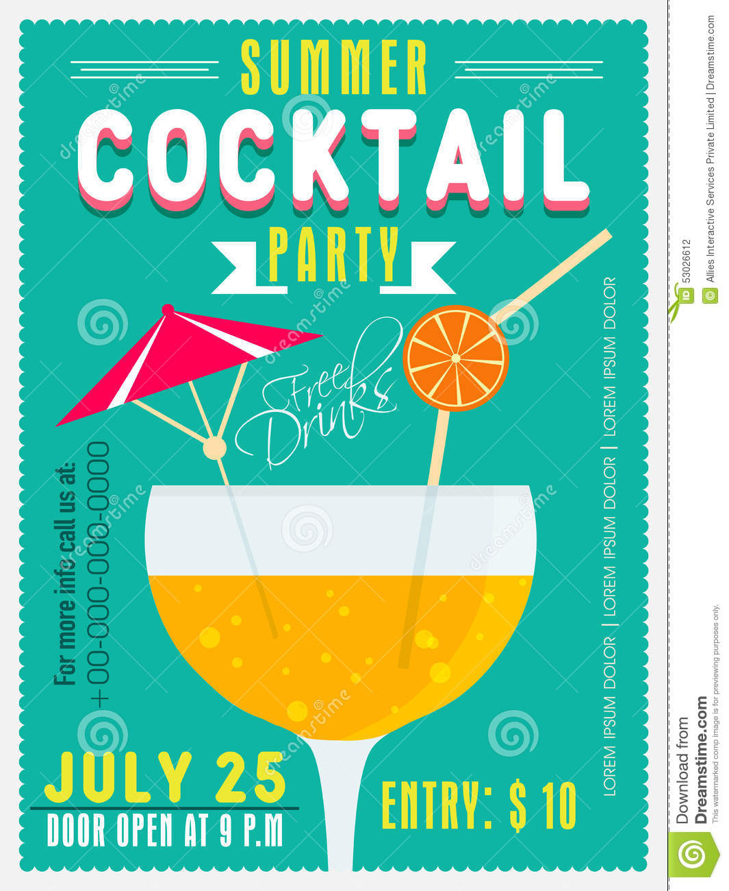 Cocktail Party Invitations as good invitations design