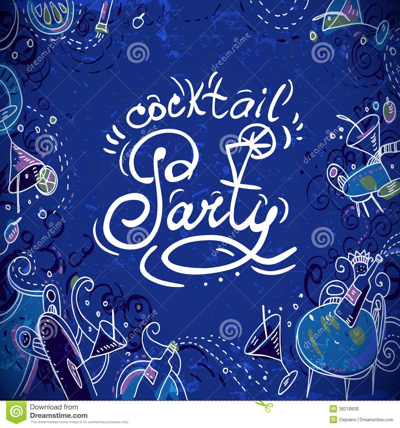 Invitation Card To Cocktail Party Photo Image 36218630 – Cocktail Party Invitation Cards