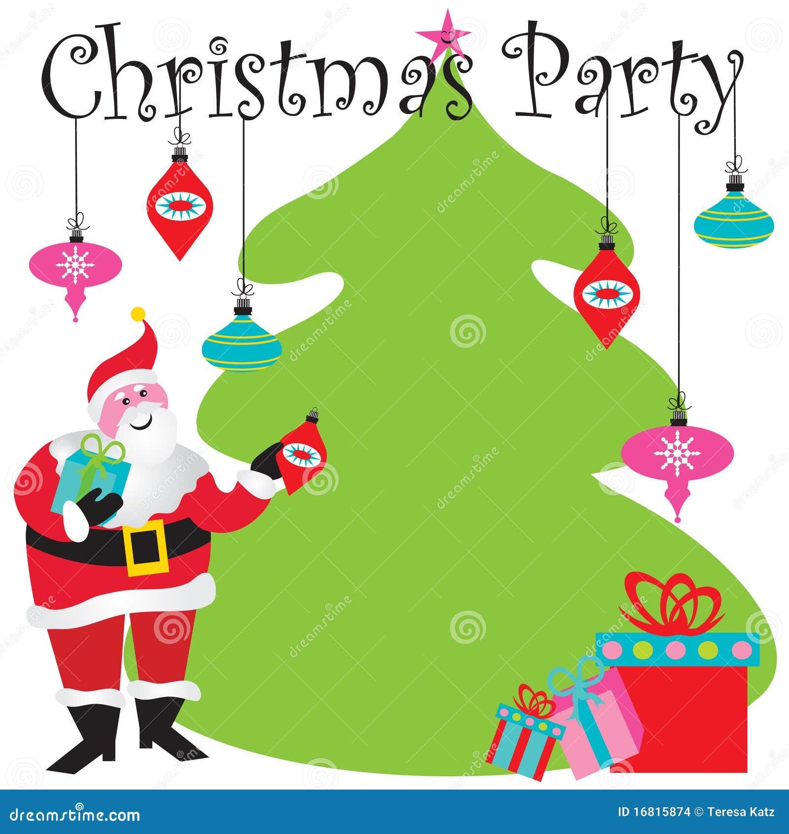 Souvent Invitation De Fête De Noël Images stock - Image: 16815874 IM08