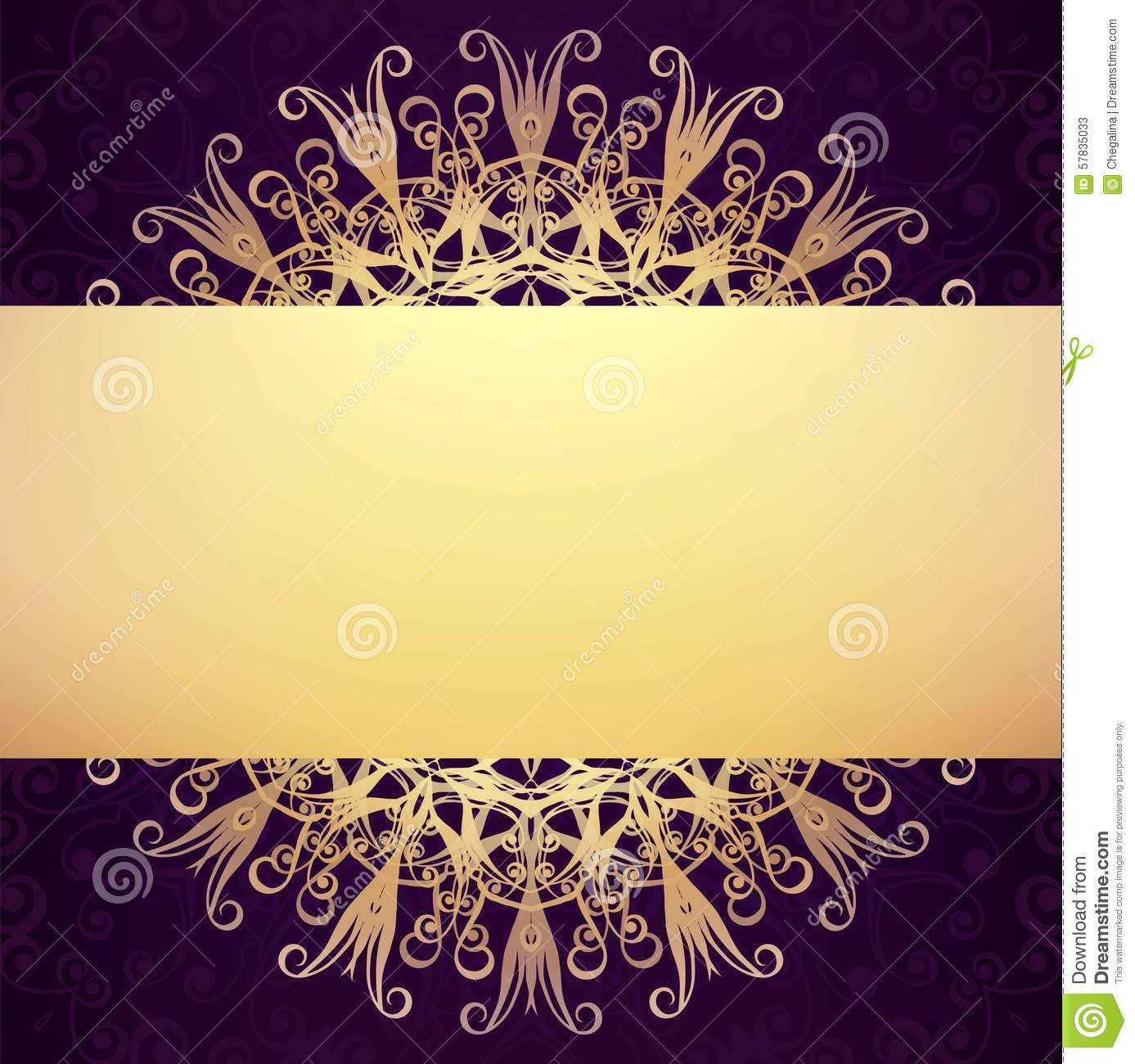 Invitation card resolution purplemoon invitation or greeting card design vector round ornament stock invitation samples stopboris Image collections