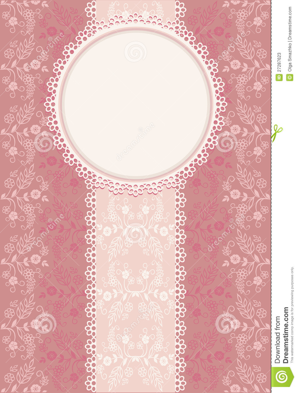 Invitation Pink Background Stock Photos Image 27287623