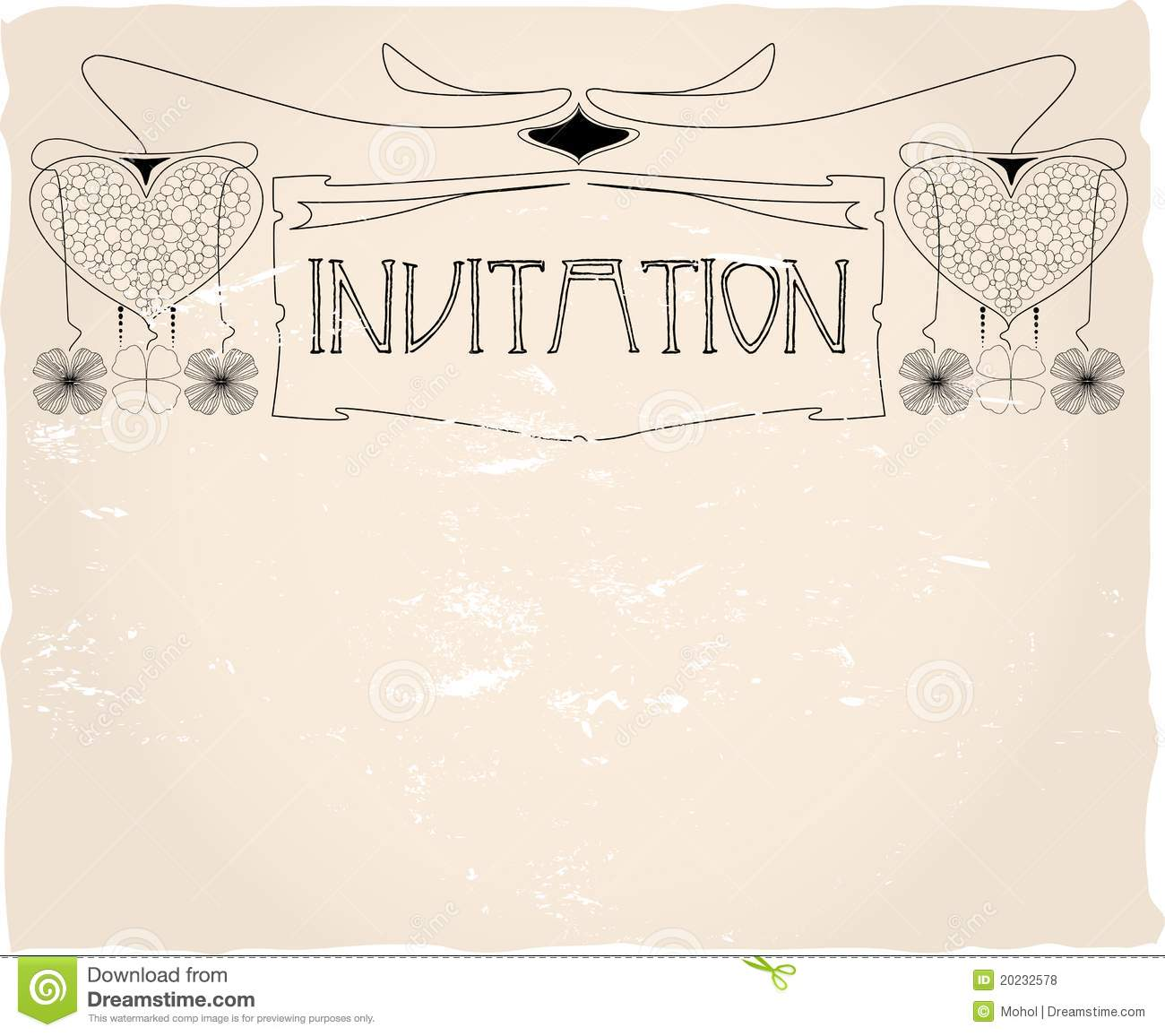 Invitation Template, Royalty Free Stock Photos - Image: 20232578