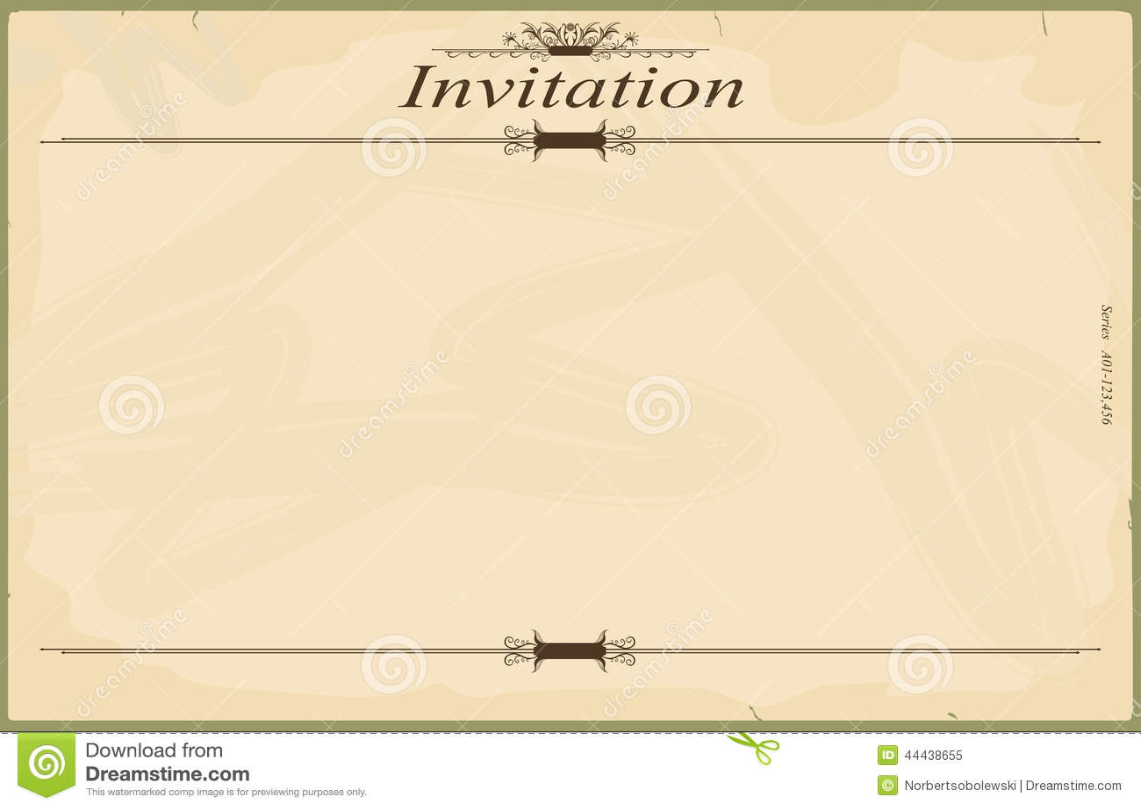 Invitation stock vector. Illustration of birthday ...