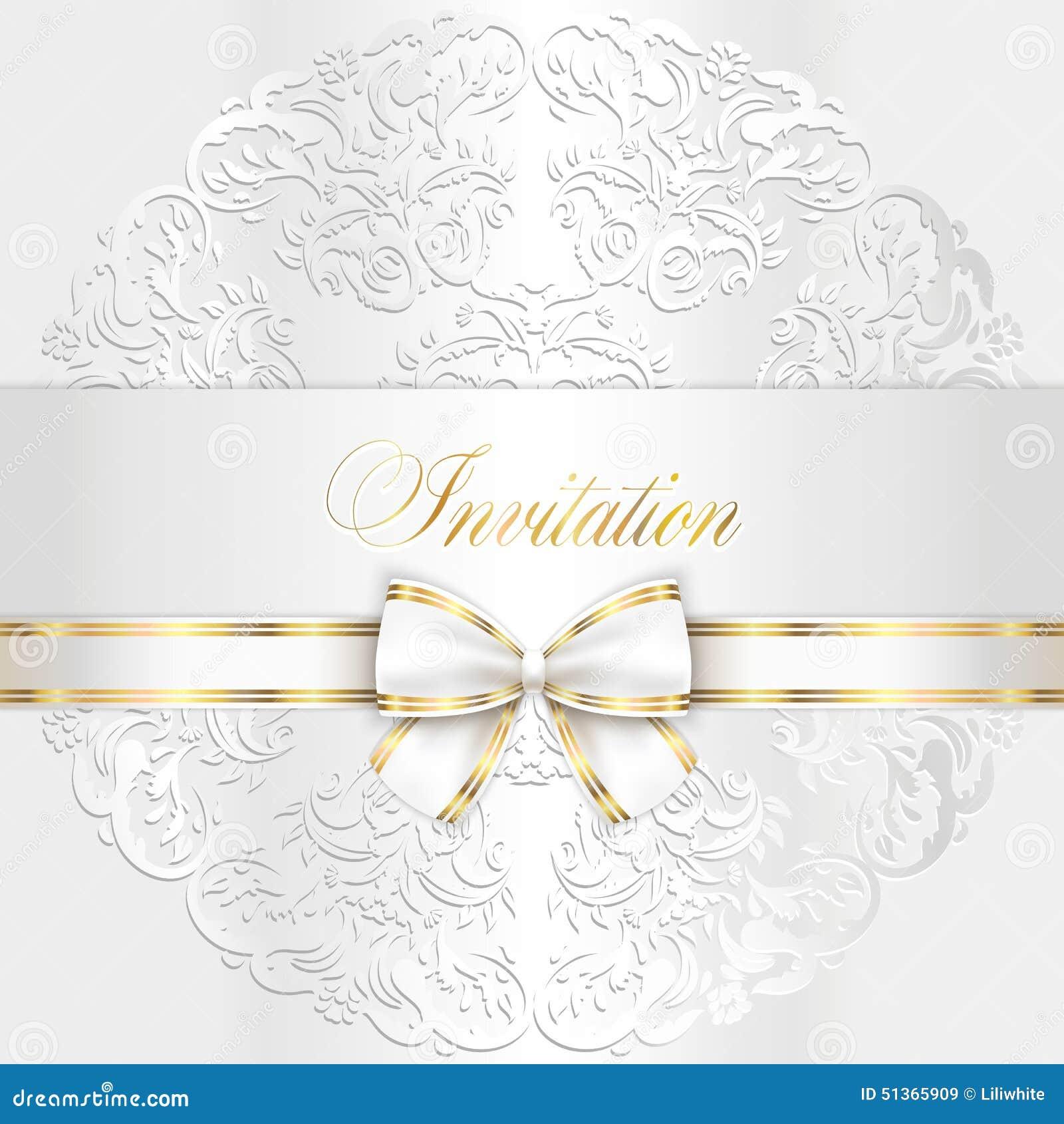 Inviti di nozze di lusso