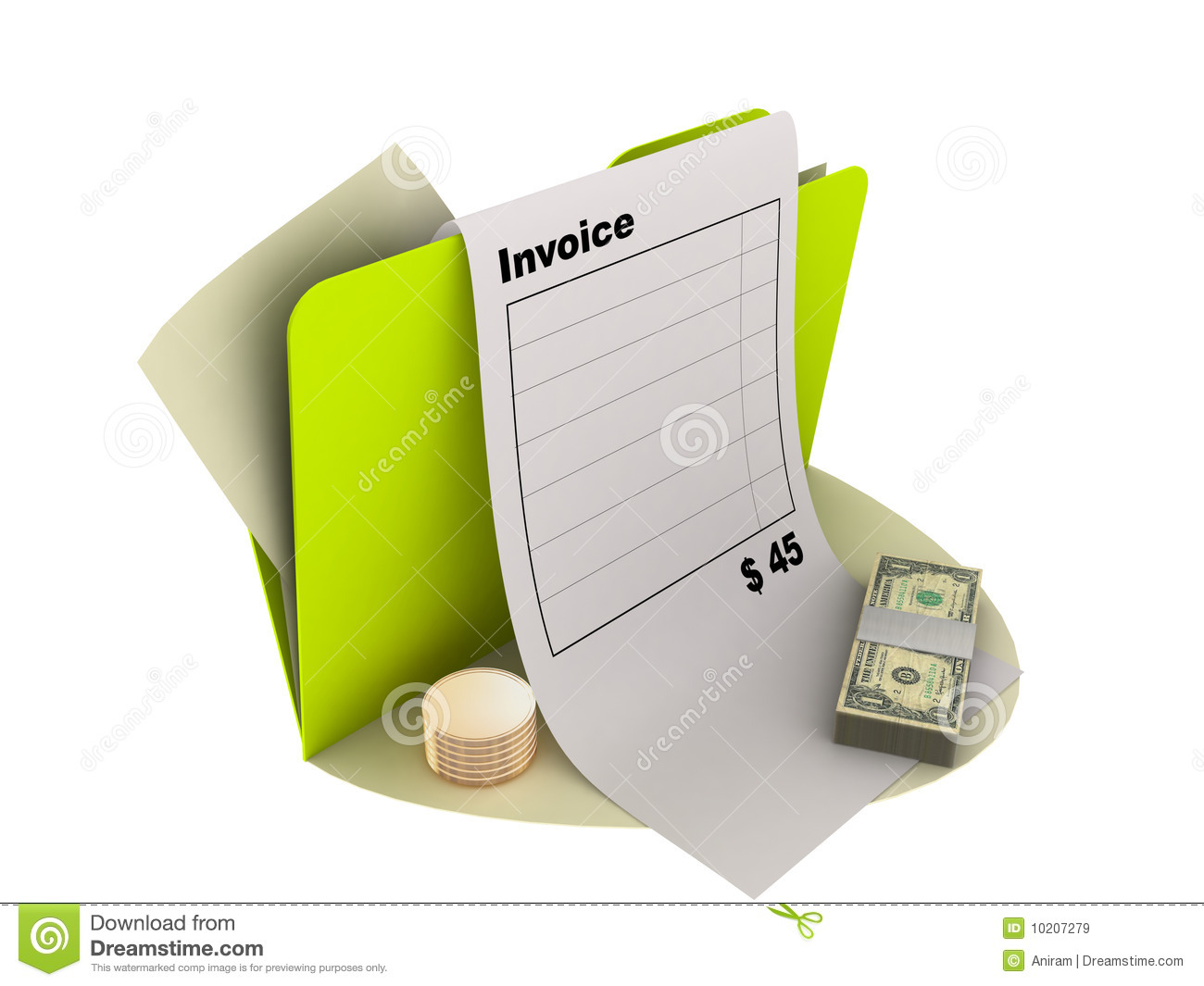 Invoice Icon Royalty Free Stock Images Image 10207279