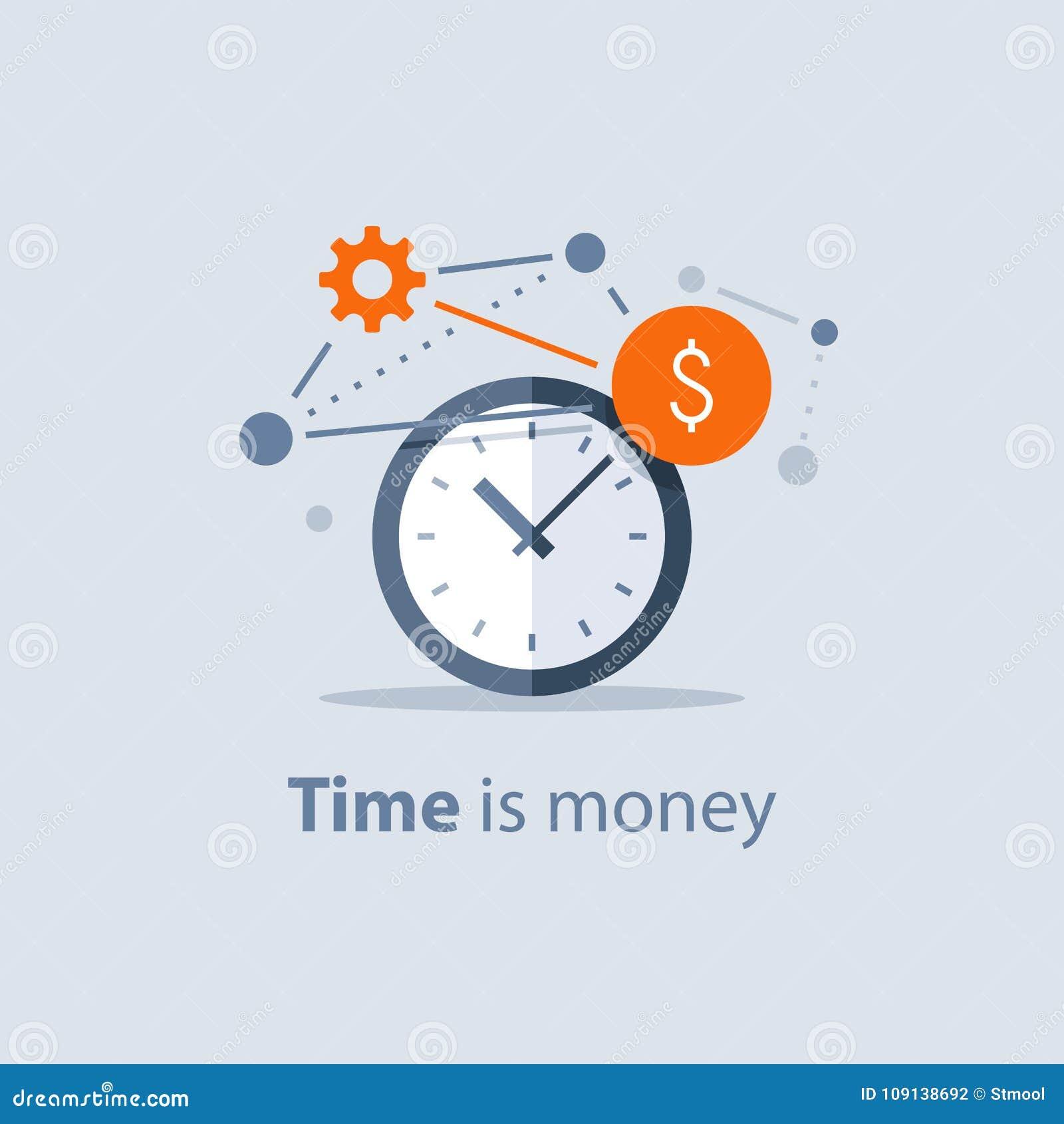 Inwestycja długoterminowa, czas jest pieniądze pojęciem, pieniężnej przyszłości planowanie, emerytalny savings fundusz, finansowi