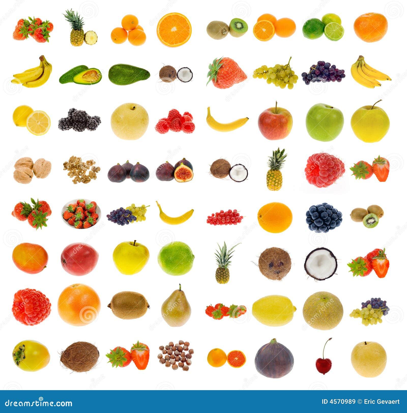 Inzameling van fruit en noten