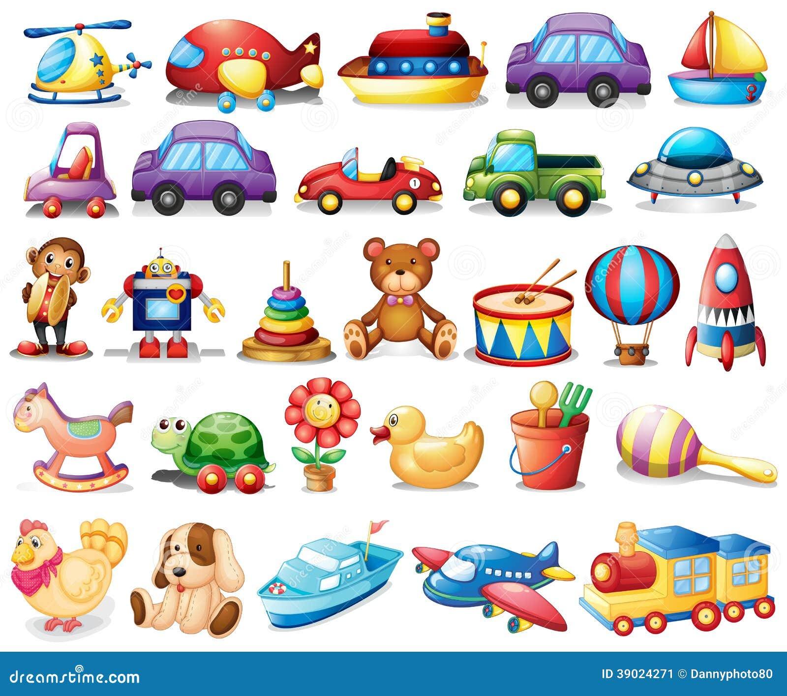 Inzameling van speelgoed