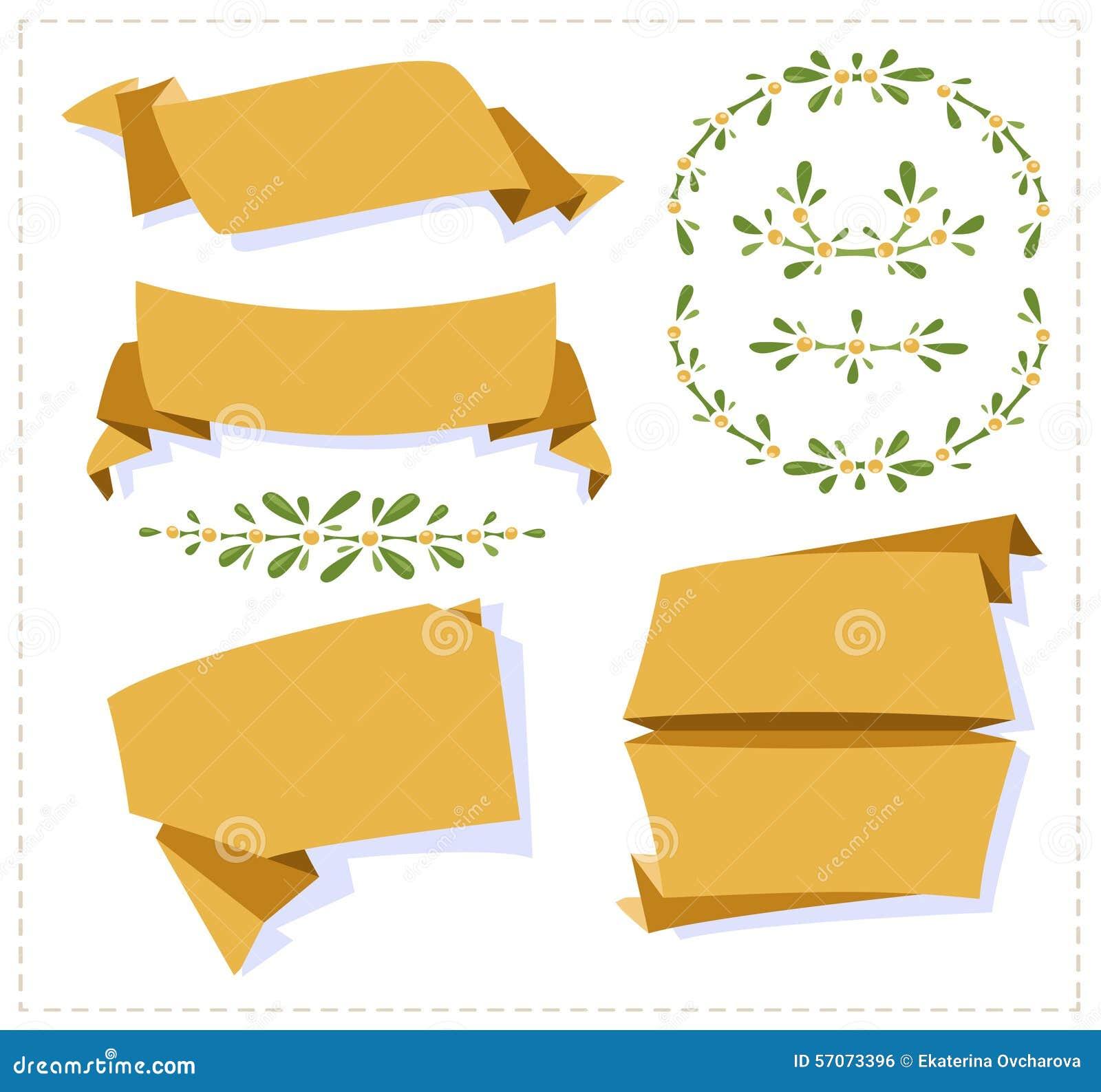 Inzamelingsdocument origamibanner