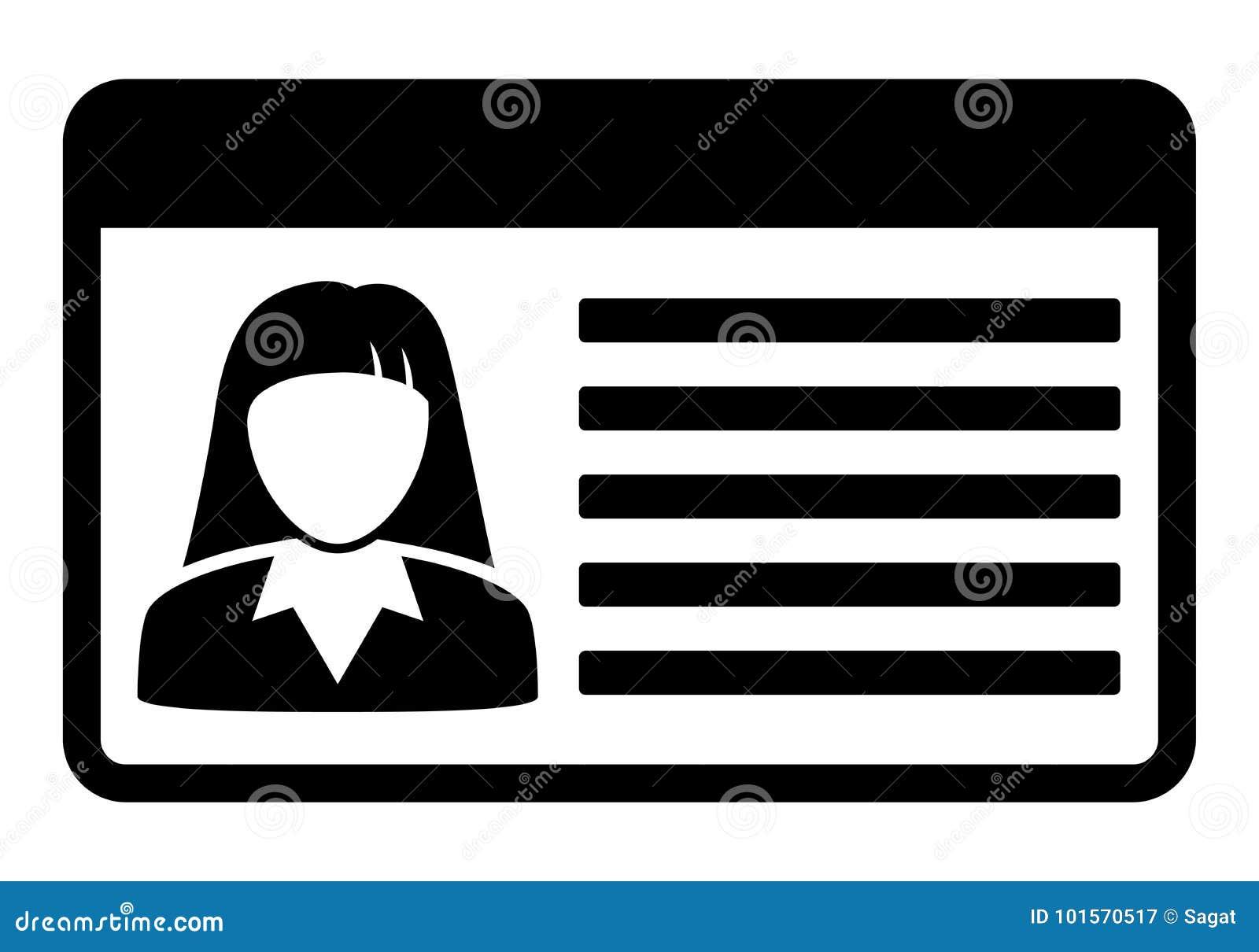 iocn de carte de permis de conduire de voiture illustration de vecteur illustration du. Black Bedroom Furniture Sets. Home Design Ideas