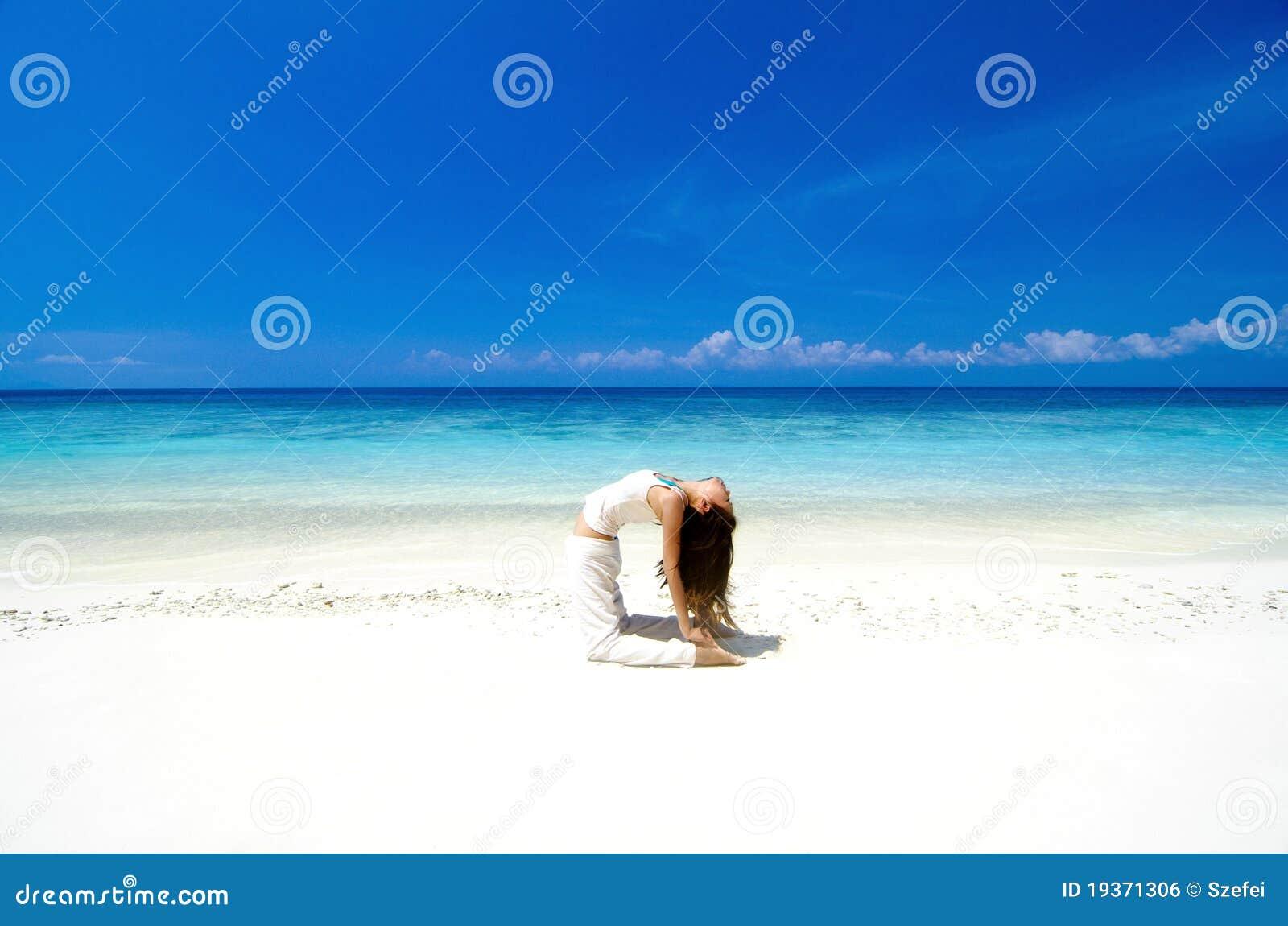 Ioga da praia