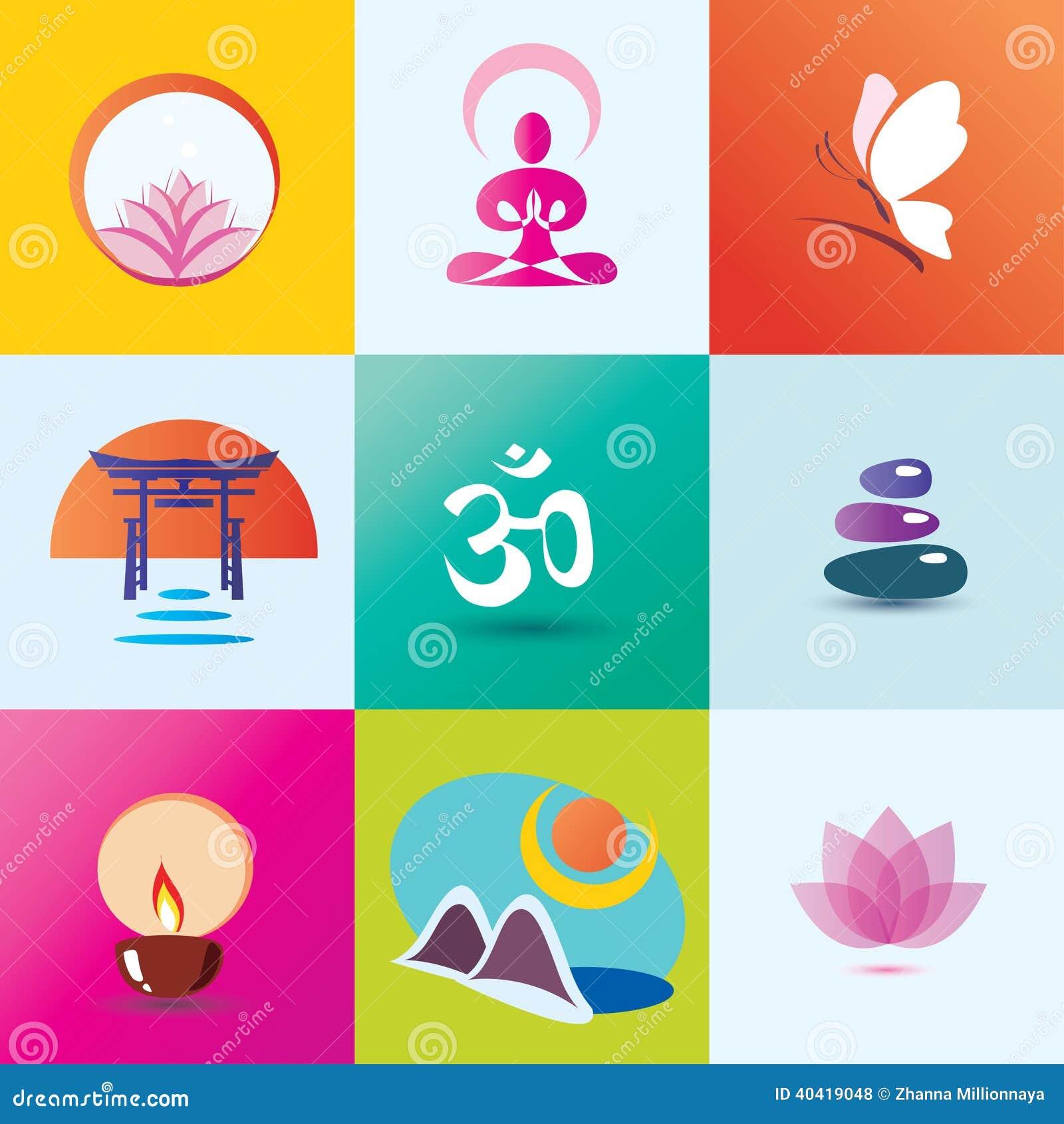 Ioga, termas, meditação e conceito oriental