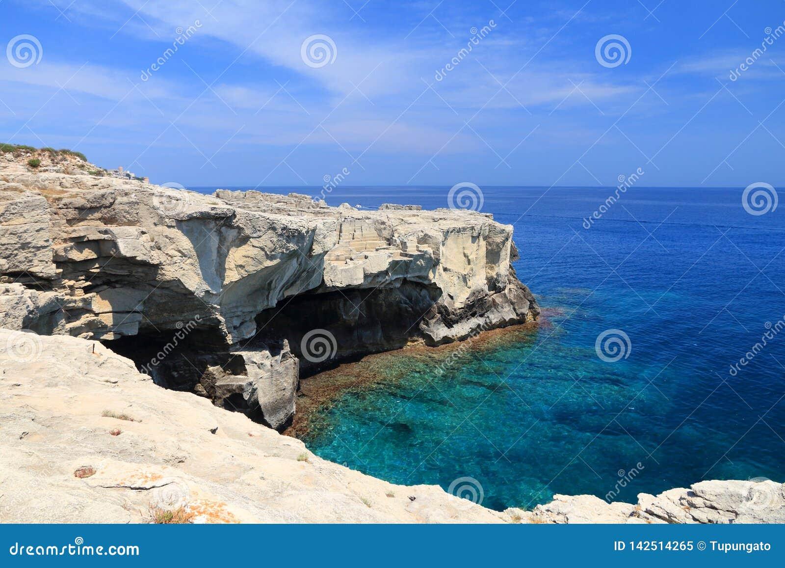 Ionisches Seeküste