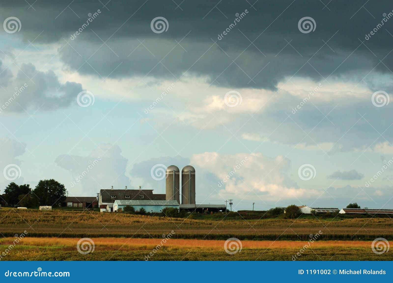 Iowa-Bauernhof