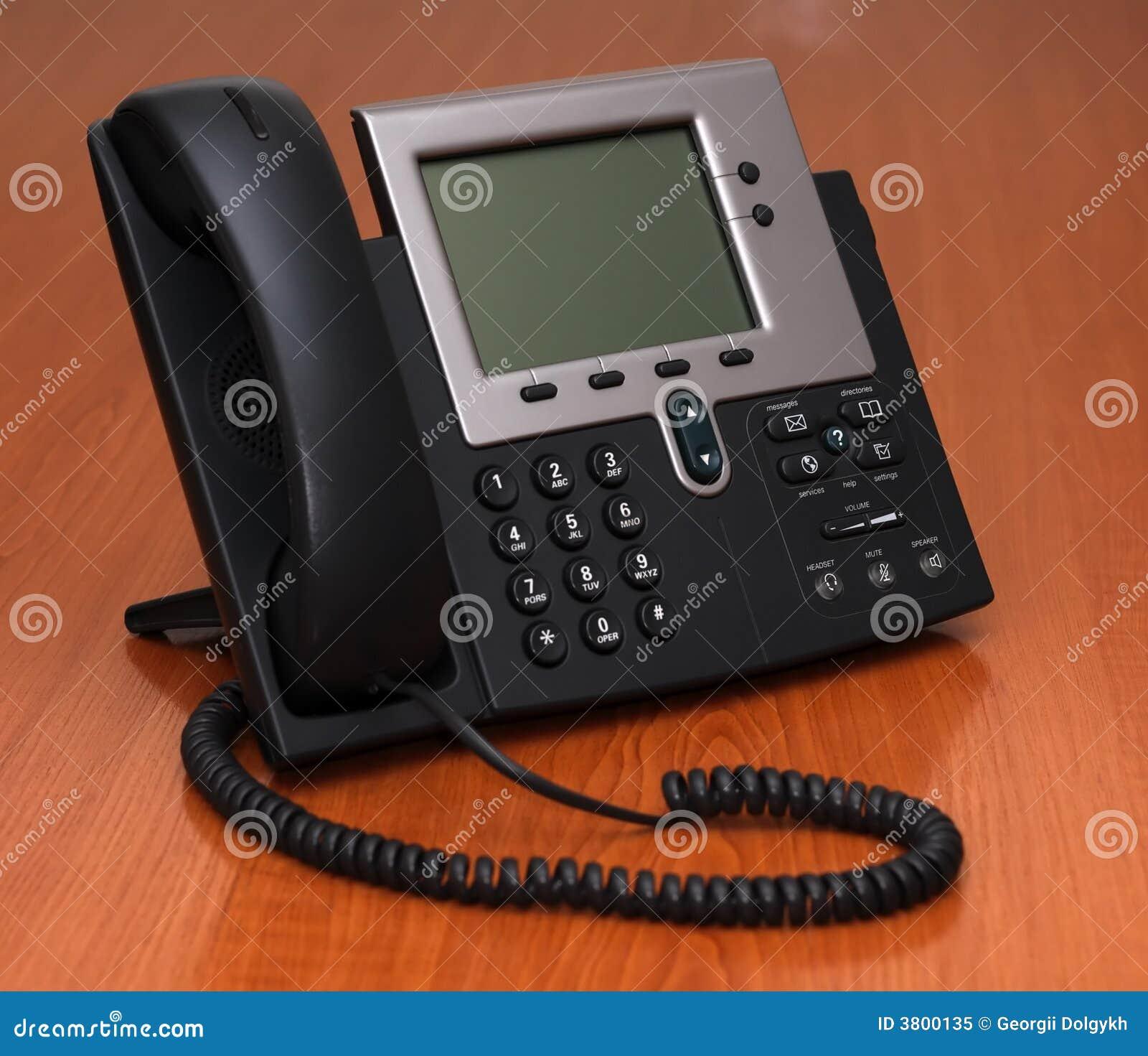 IP Telefoon op een lijst