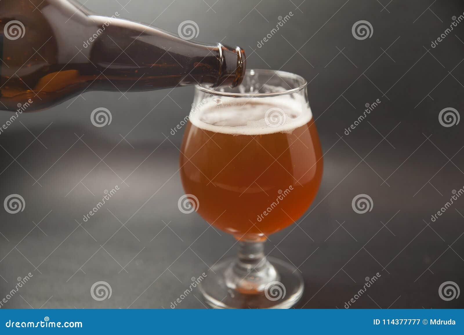 IPA-Bier im Glas