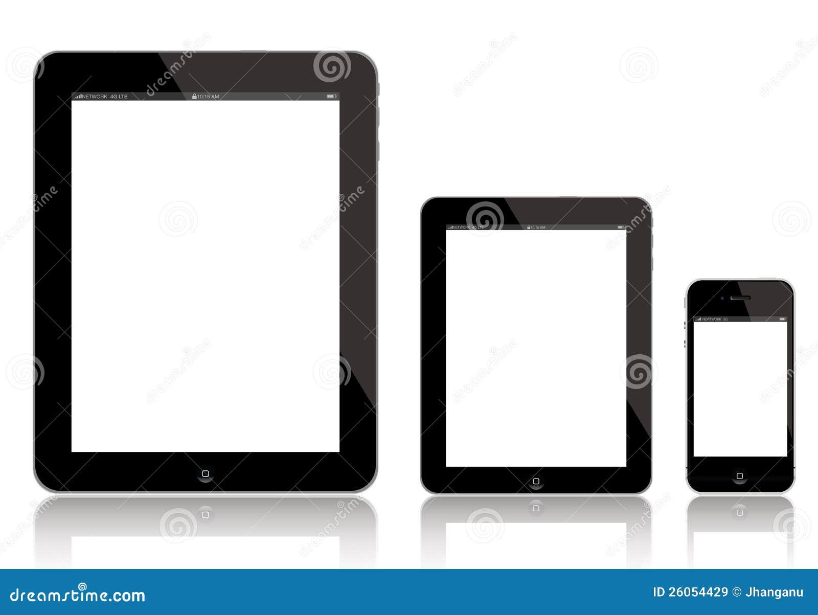 IPad 4,微型新的iPad和iPhone