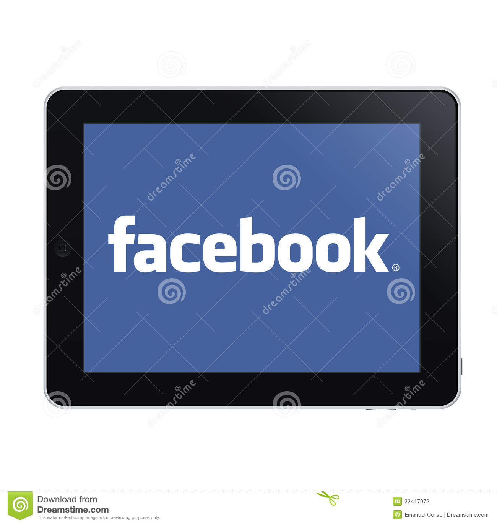Ipad en facebook