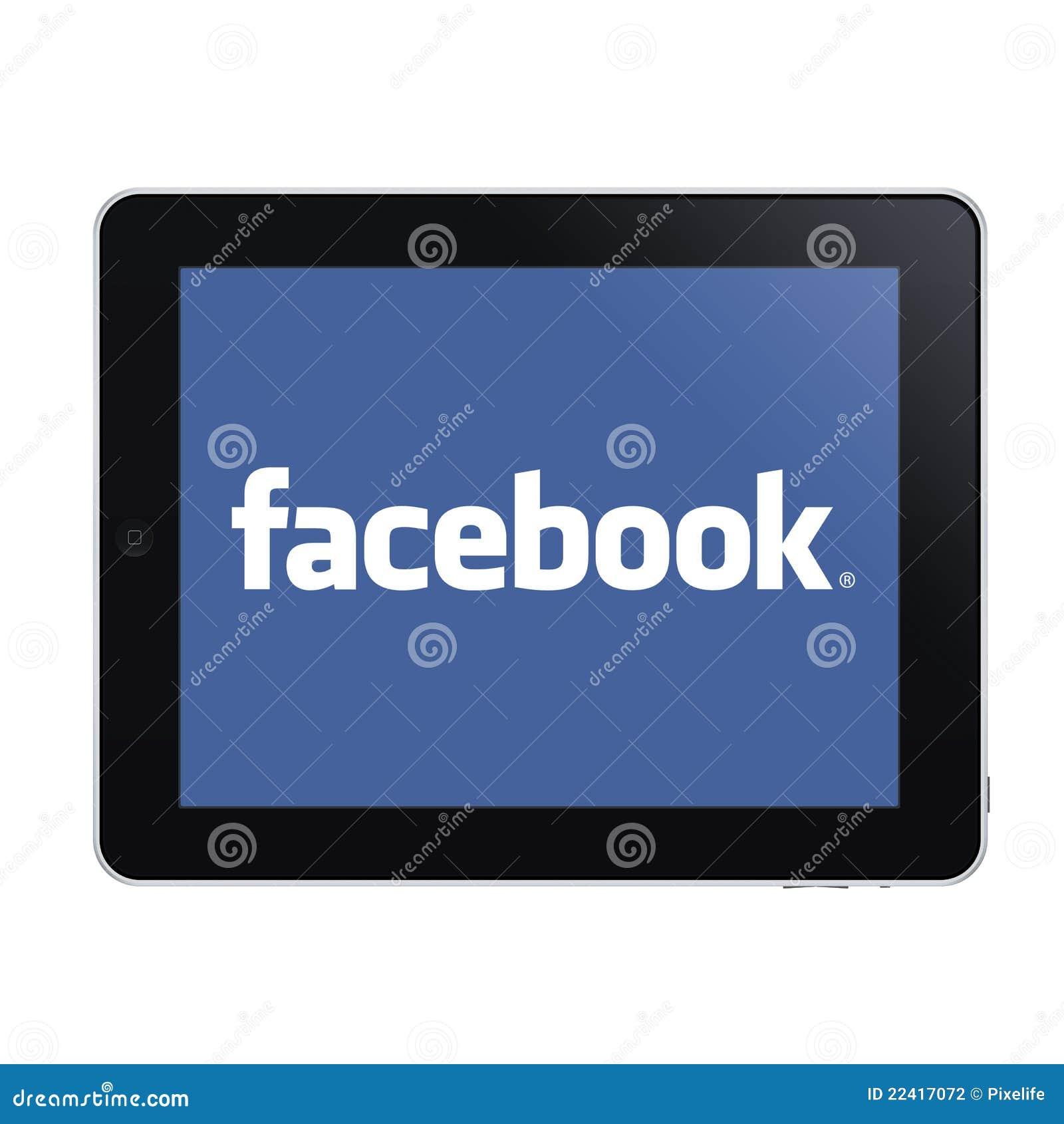Ipad and facebook