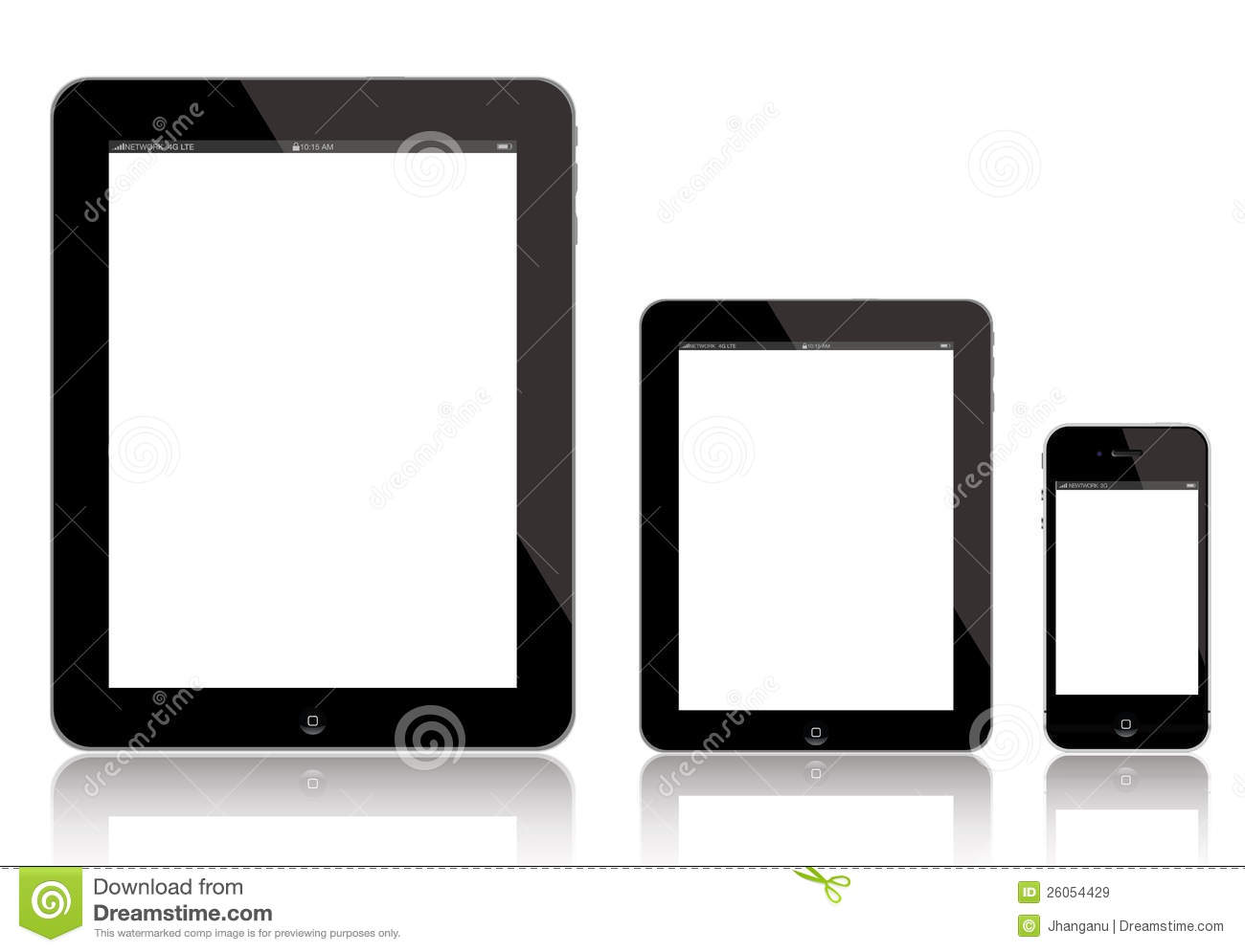IPad, iPad Mini en iPhone