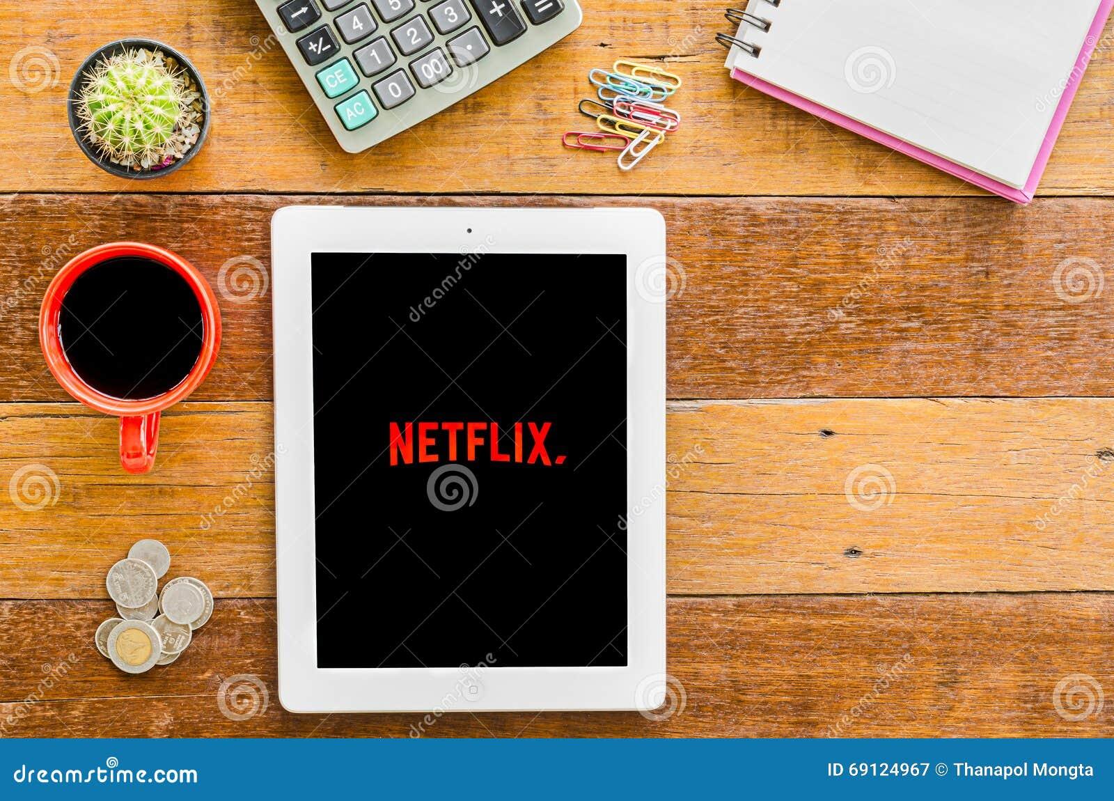 IPad 4 Netflix otwarty zastosowanie