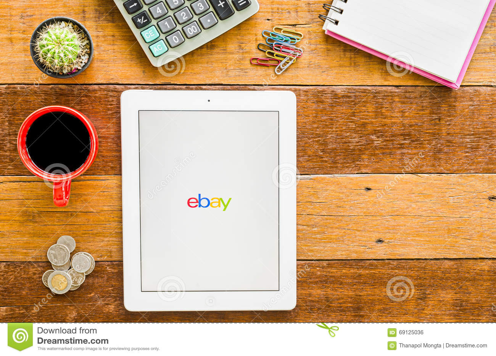 IPad 4 open ebay apps