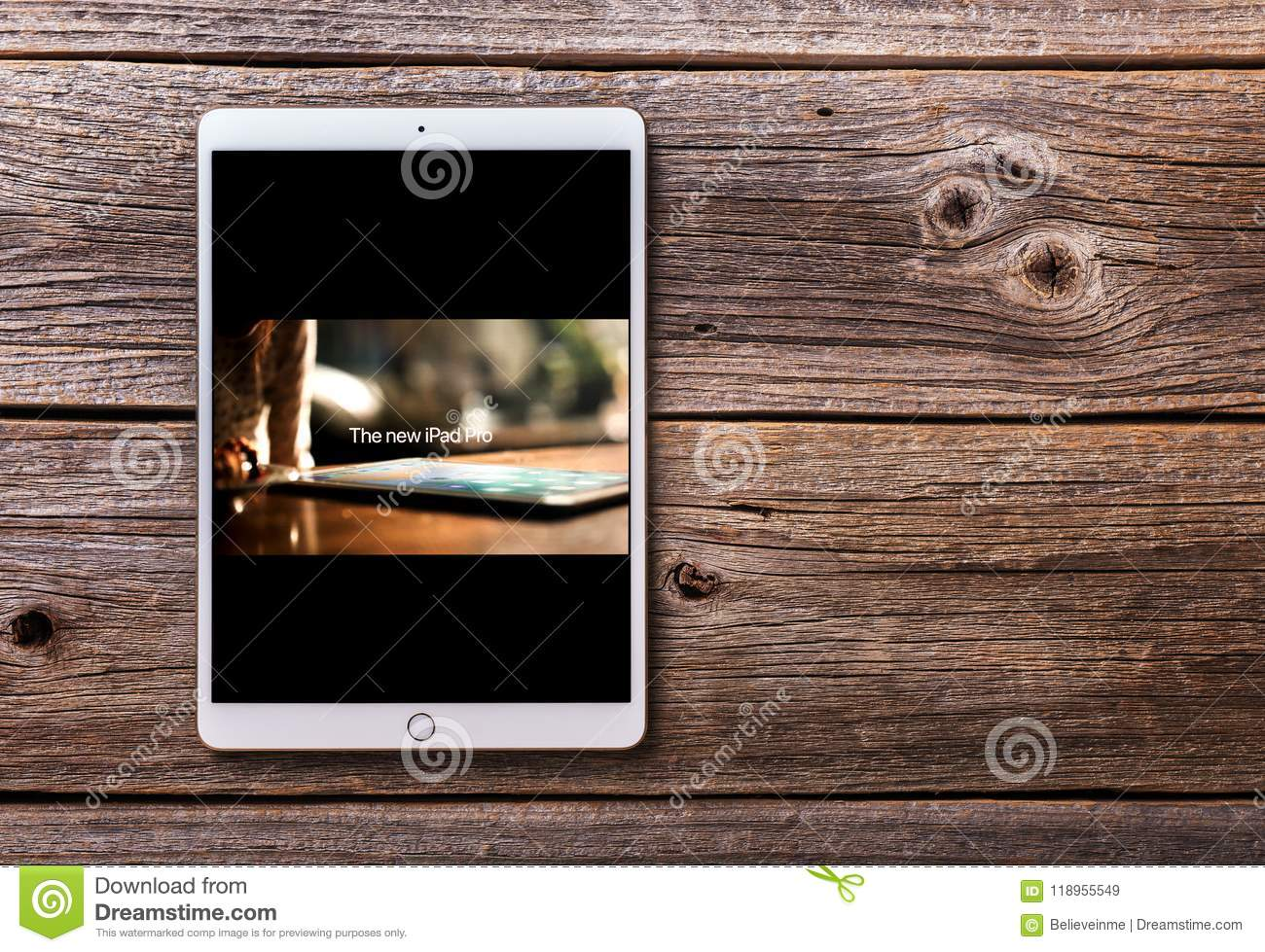 Ipad Pro With An Official Video From Apple Inc  On The