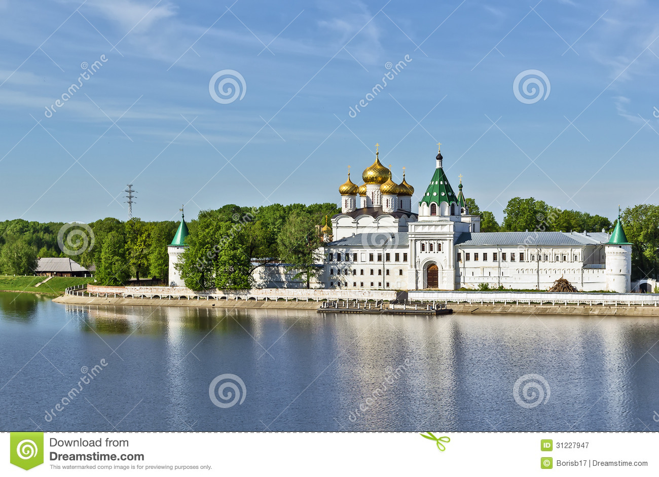 Kostroma Russia  city photo : Ipatiev Monastery, Kostroma, Russia Royalty Free Stock Photography ...