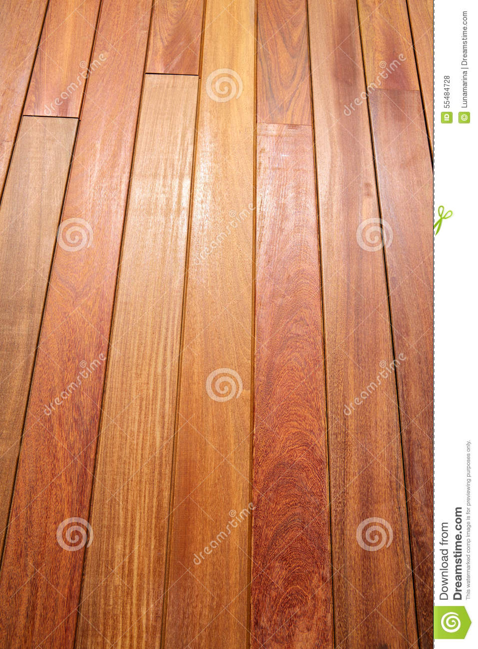 Ipe Teak Wood Decking Deck Pattern Tropical Wood Stock
