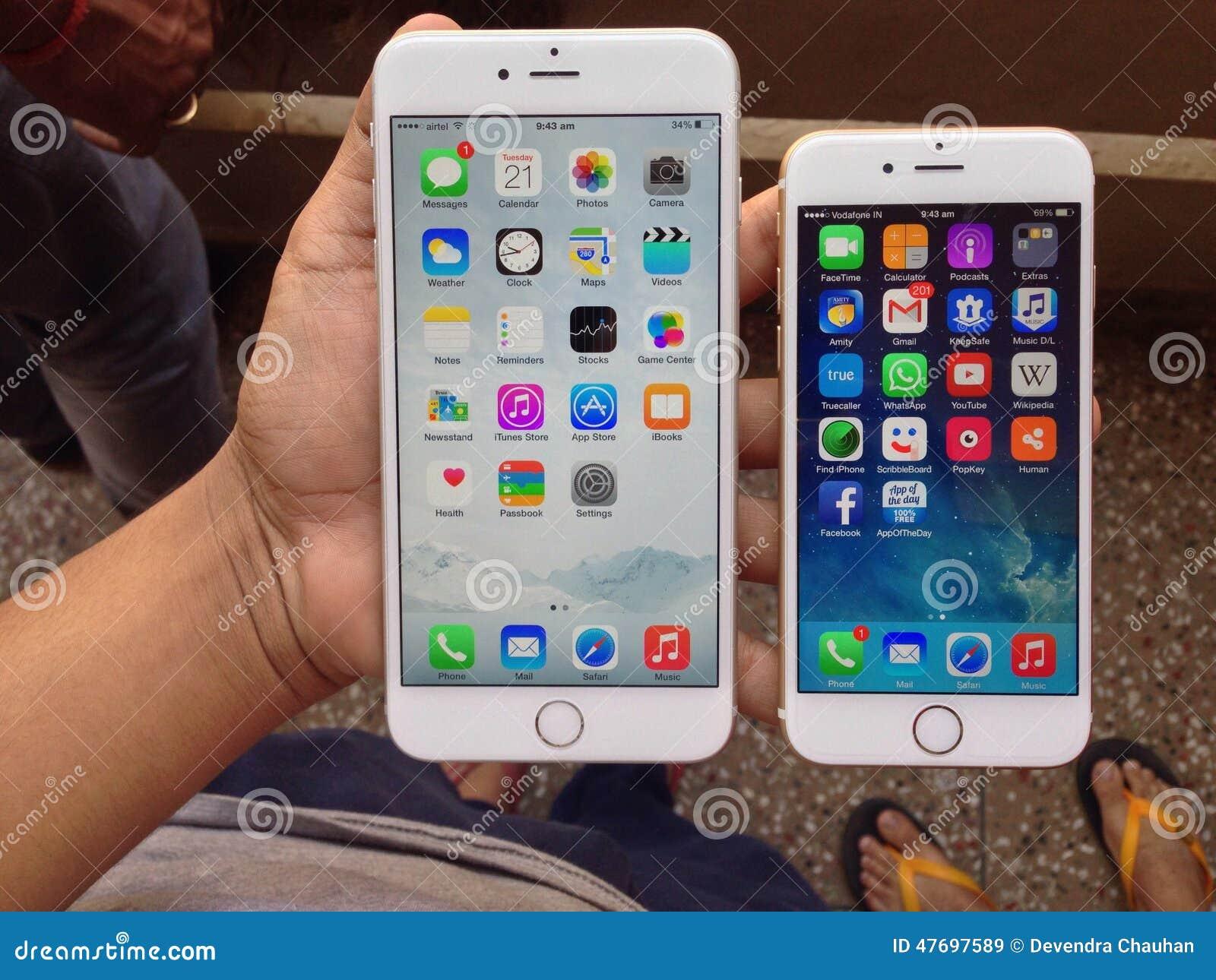 IPhone 6 και iPhone 6 συν