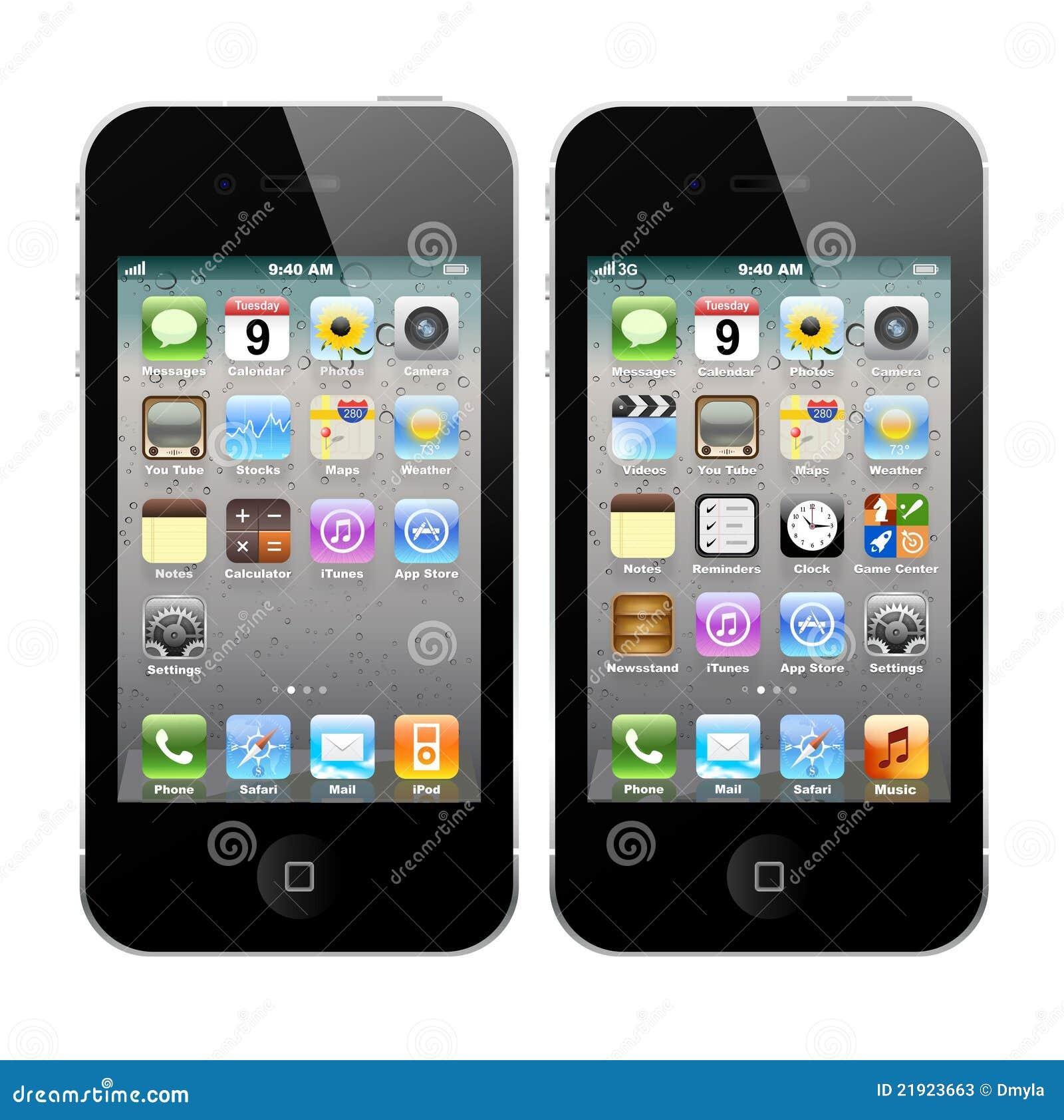 IPhone 4 e iPhone 4S