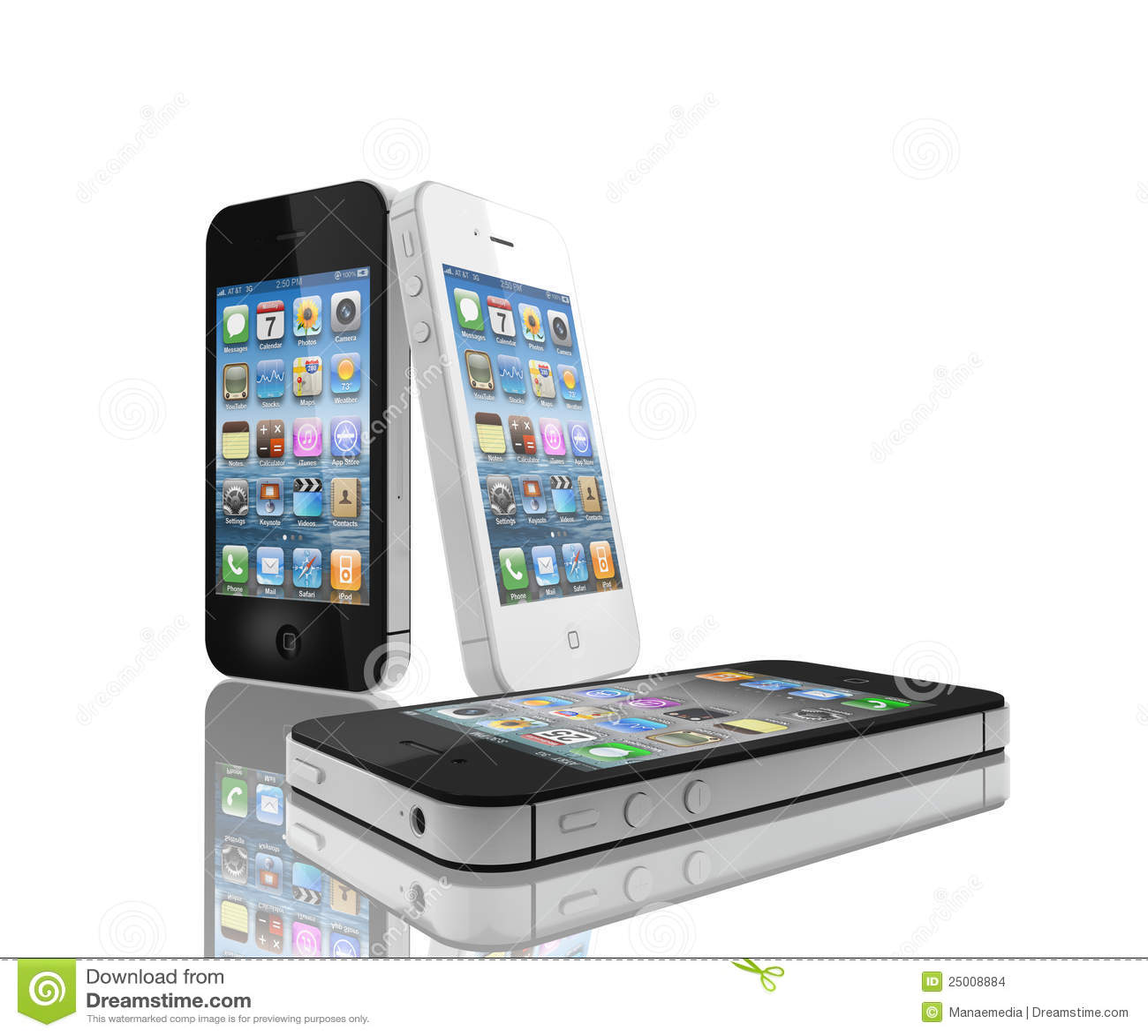 IPhone 4s Schwarzweiss