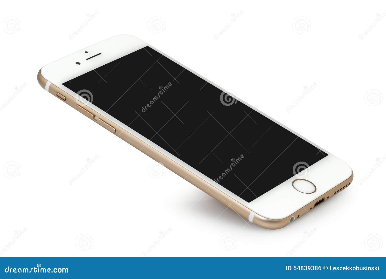 Iphone 6 avec l 39 cran vide photo ditorial image 54839386 for Photo ecran avec iphone 7