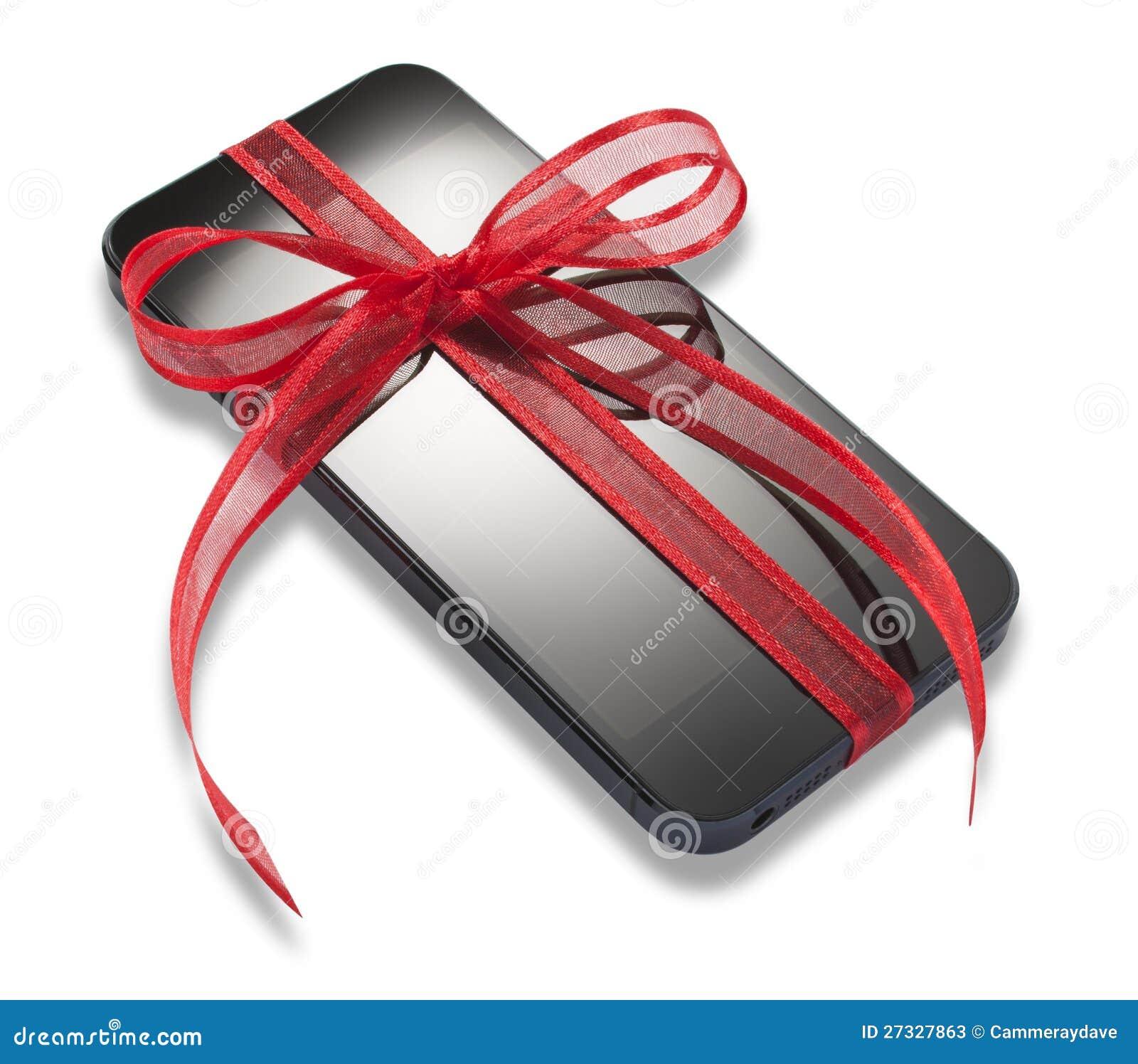 iphone cadeau de 5 cadeaux de no l photo stock ditorial image 27327863. Black Bedroom Furniture Sets. Home Design Ideas