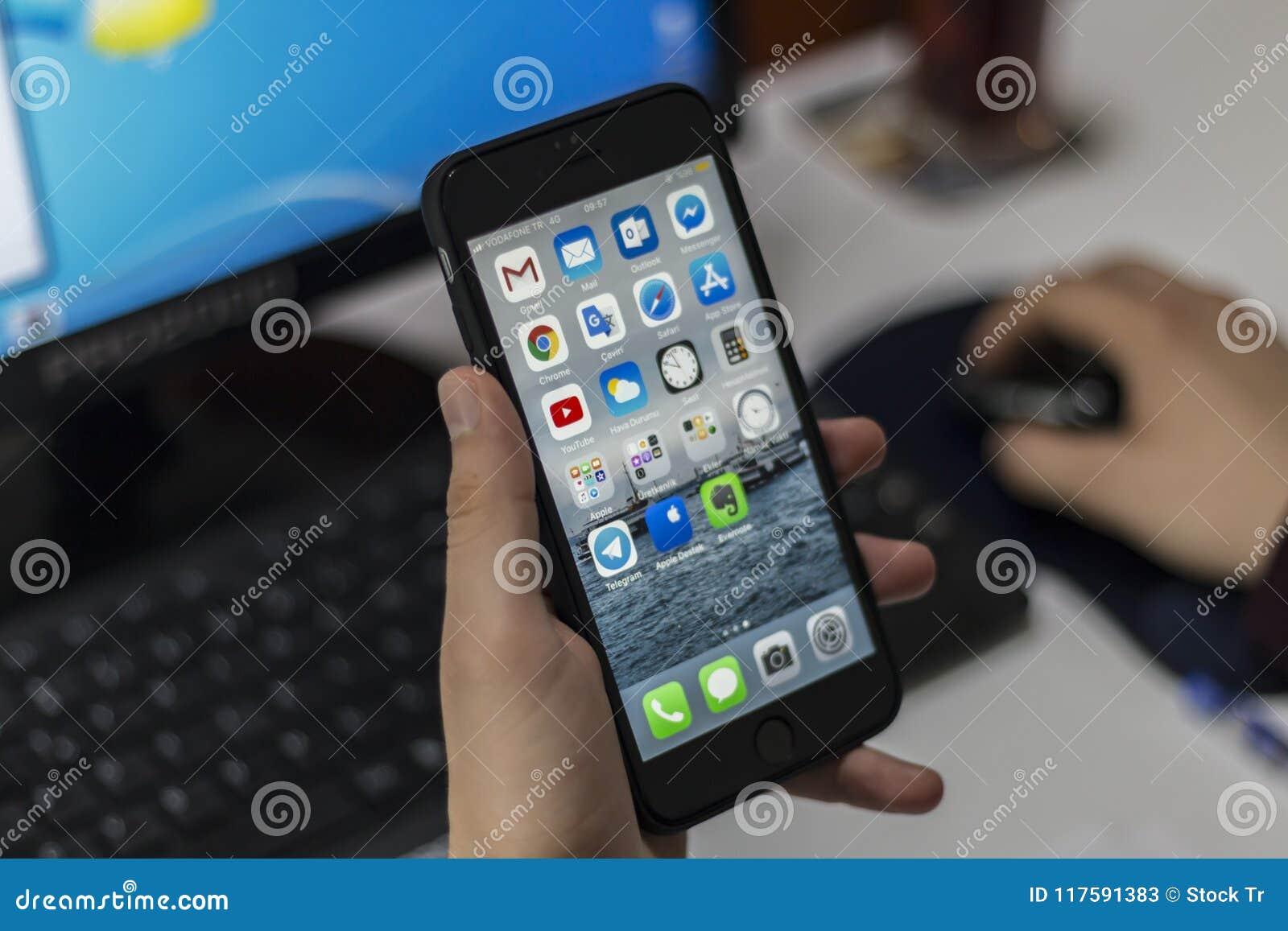 Iphone gatunku telefon komórkowy
