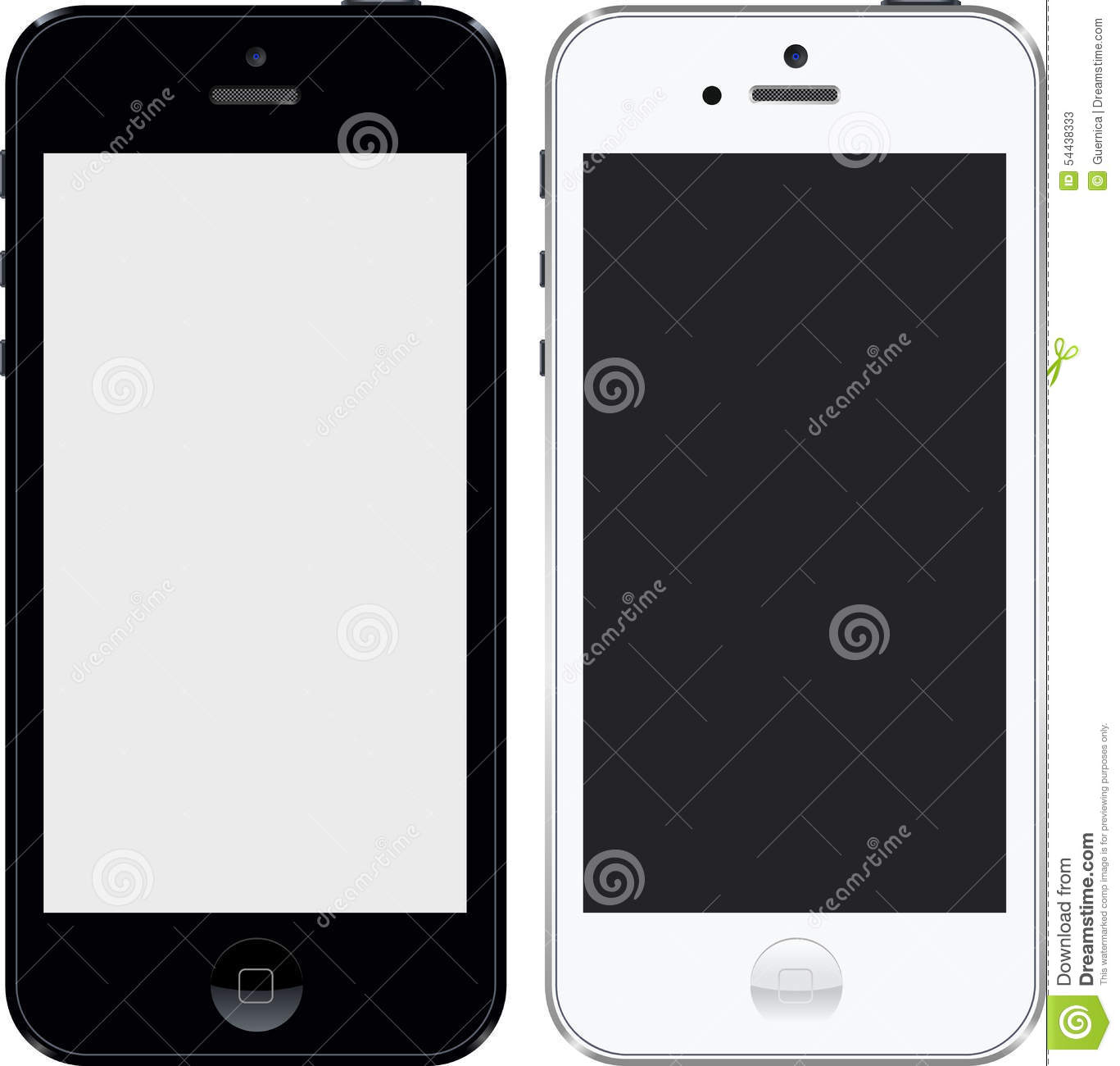 Iphone 5 hohe Schwarzweiss-Res